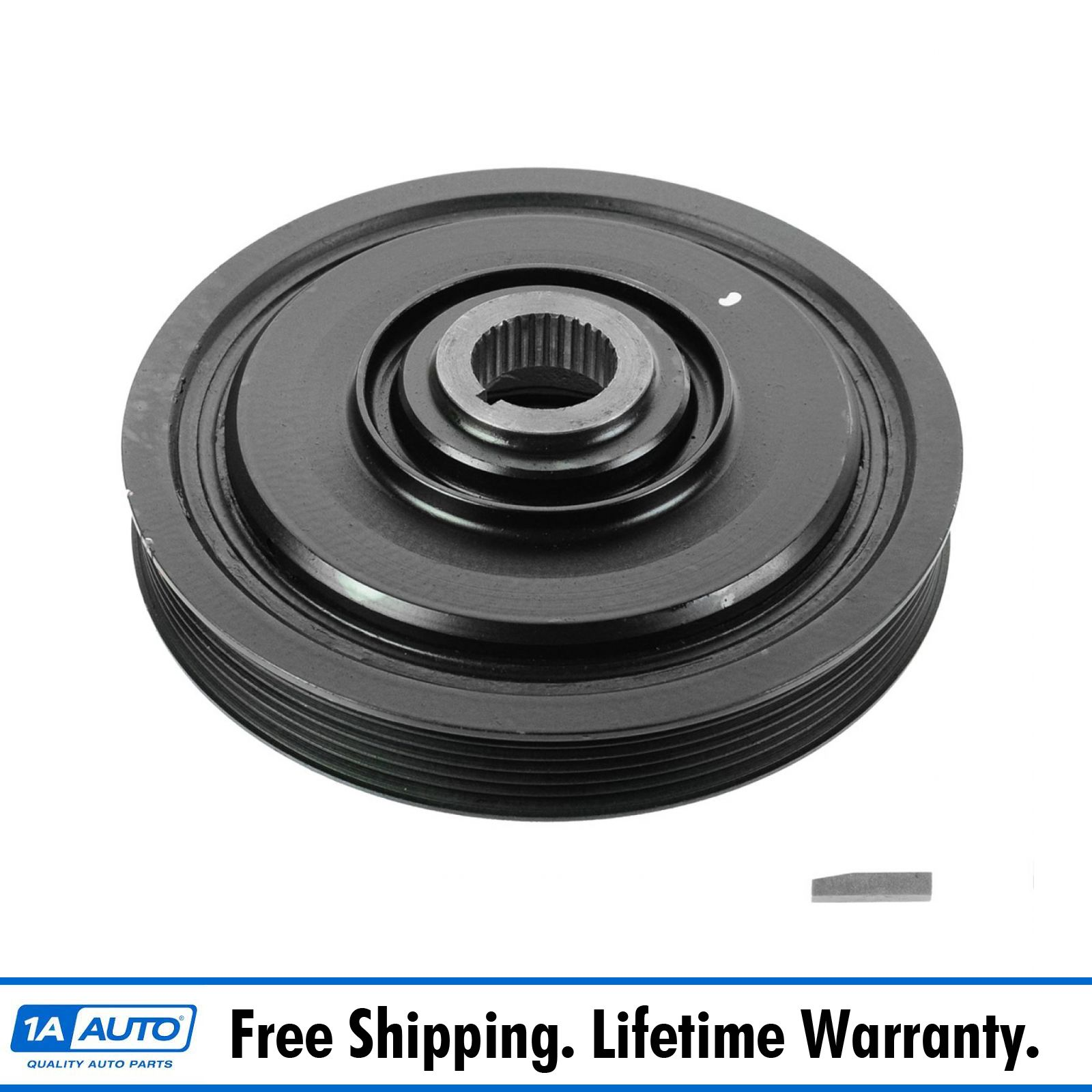 Dorman Harmonic Balancer Dampener Crank Pulley for Honda Acura 3.5L 3.7L