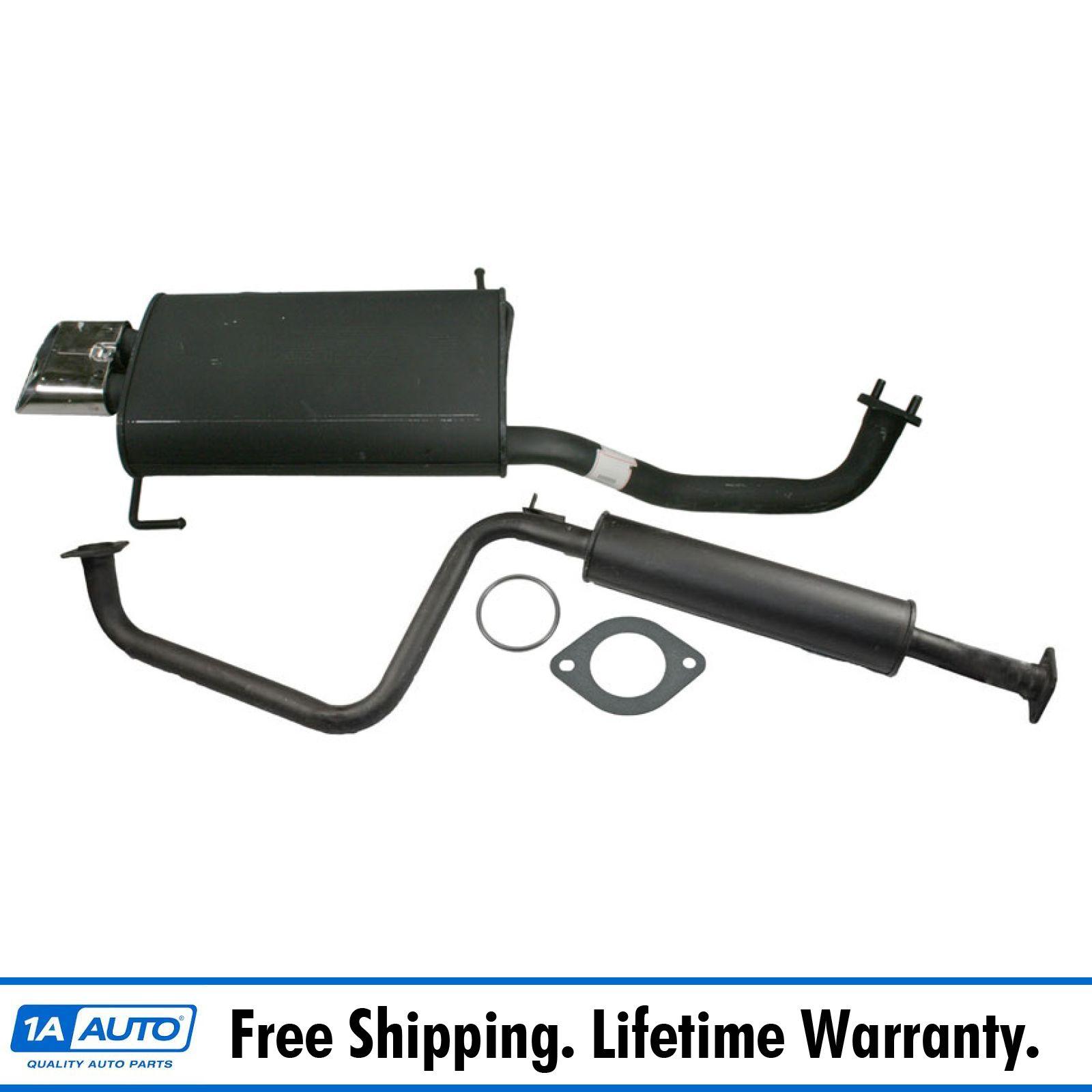 Intermediate Exhaust Pipe Resonator For 96-99 Infiniti I30 95-99 Nissan Maxima