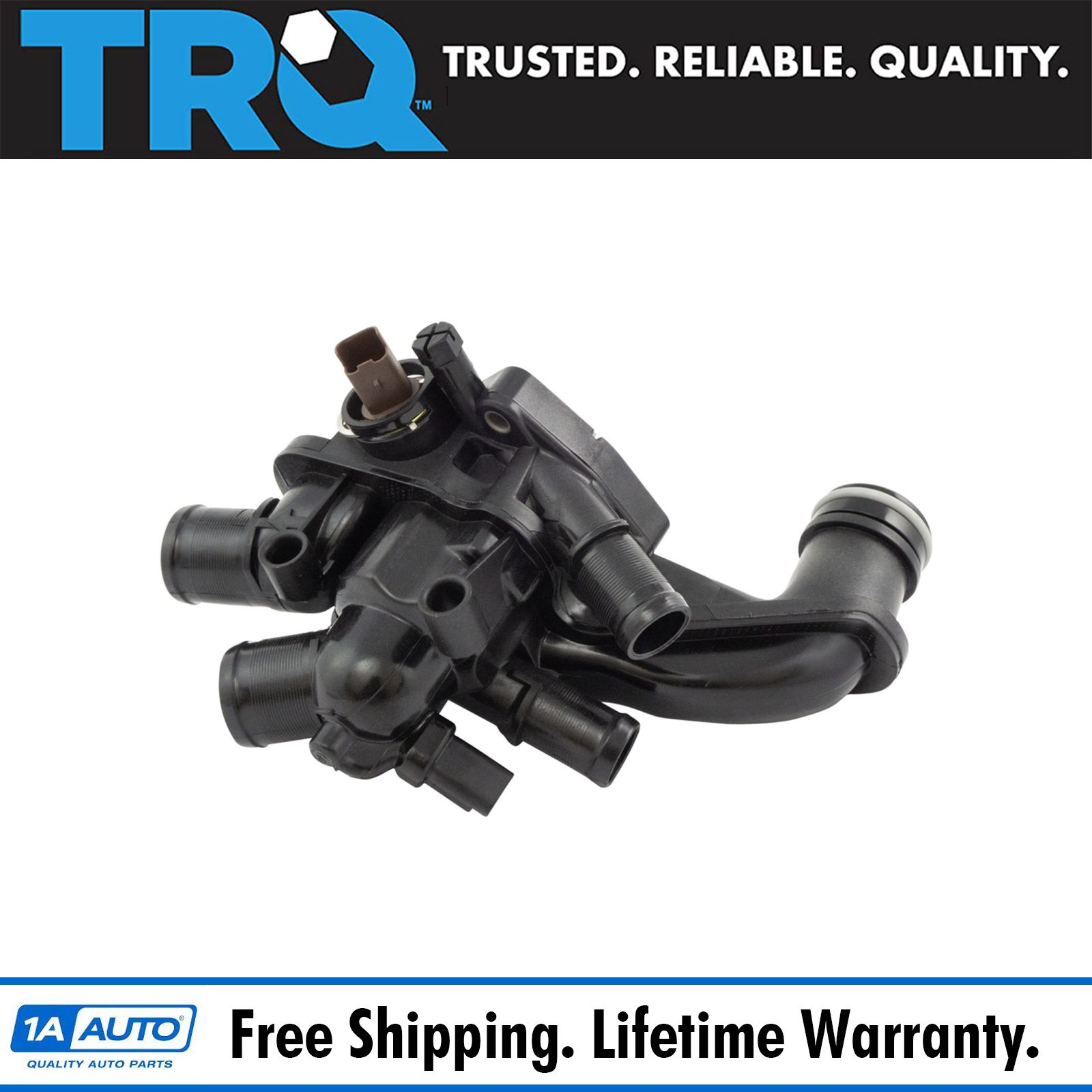 Coolant Thermostat & Housing Assembly W/ Temperature