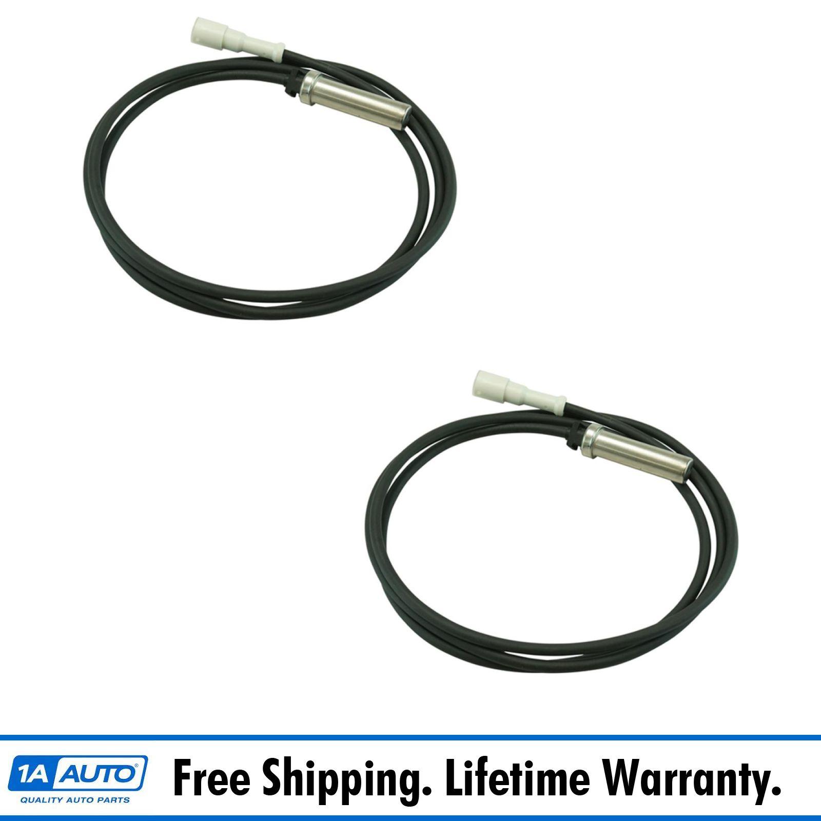 Details about Dorman Anti-Lock ke System ABS Sensor Pair Front Rear on