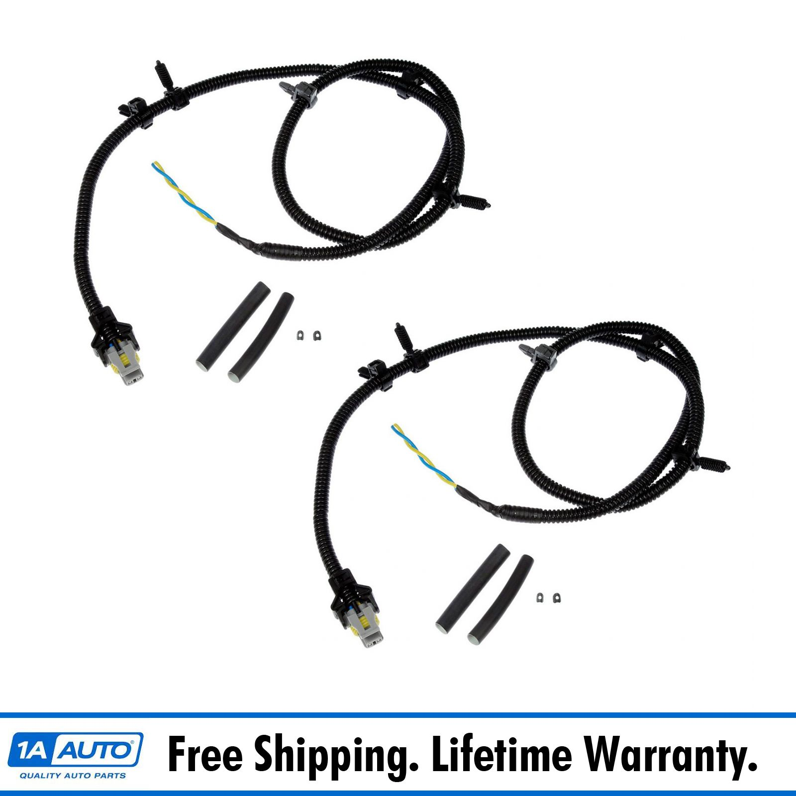 Details about ABS Sensor Wire Harness Front LH RH Pair for Buick Cadillac on