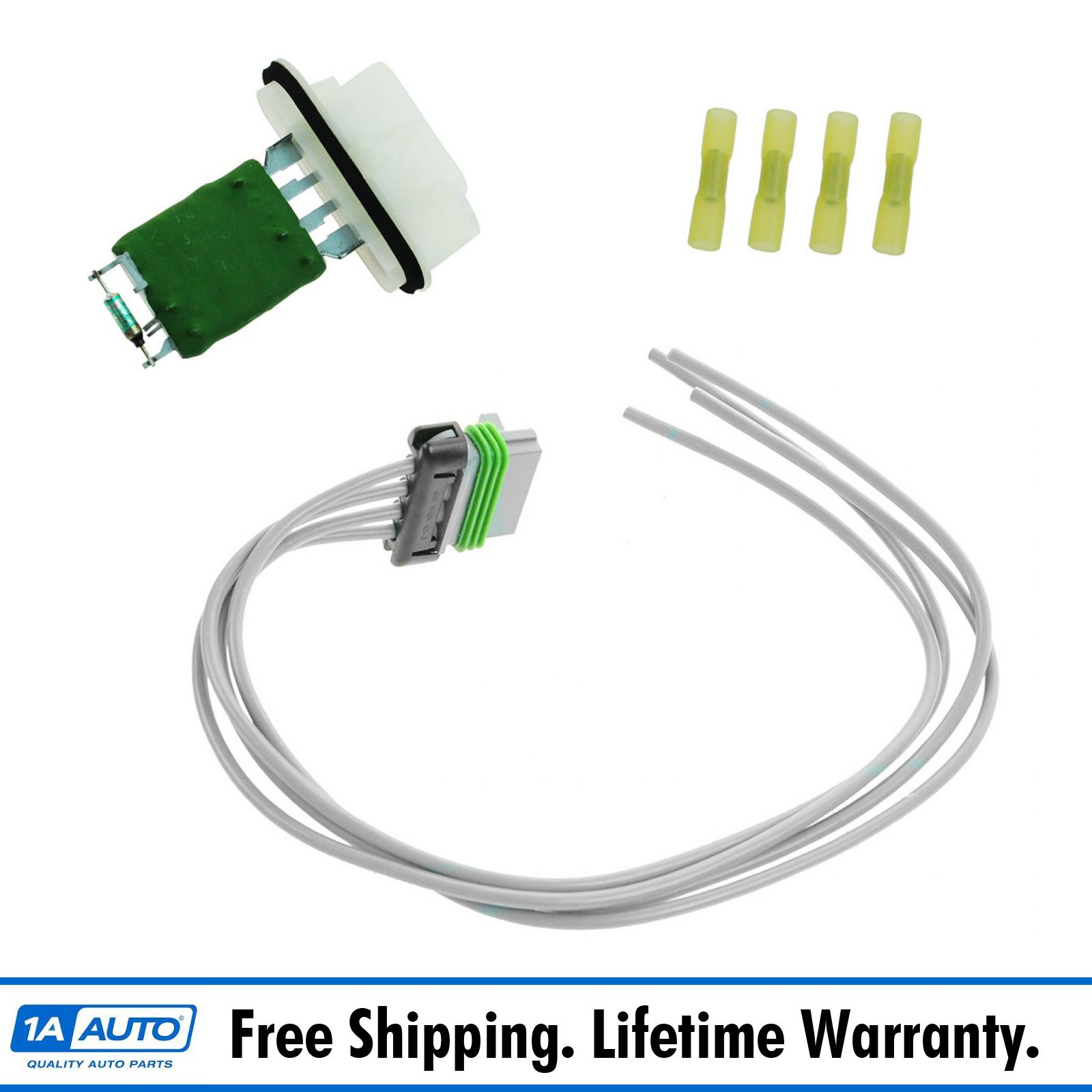 Chevy Colorado Blower Resistor: Dorman Heater Blower Motor Resistor W Pigtail Harness For