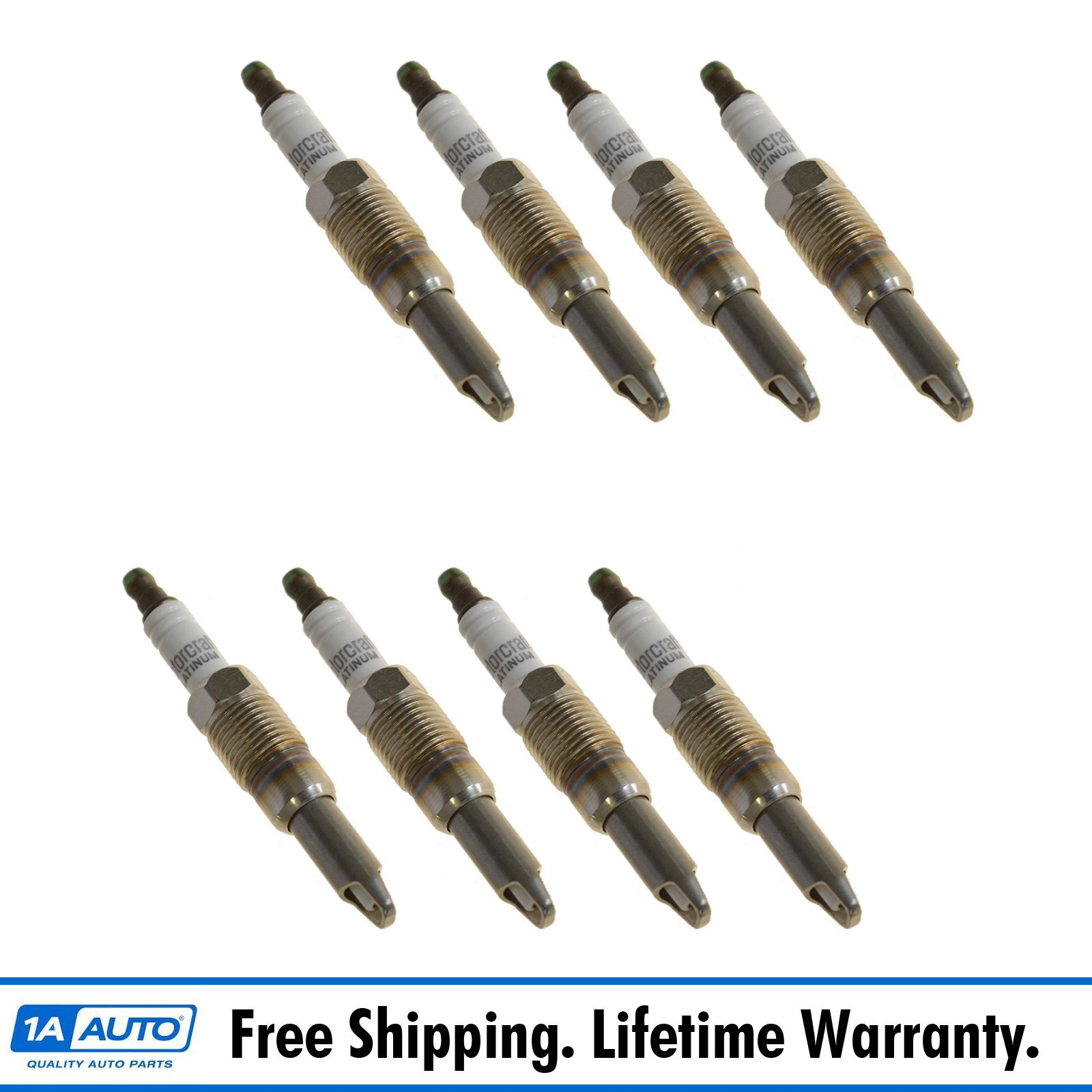 For Ford F-150 Expedition Lincoln Navigator Set of 8 Spark Plugs Genuine OEM