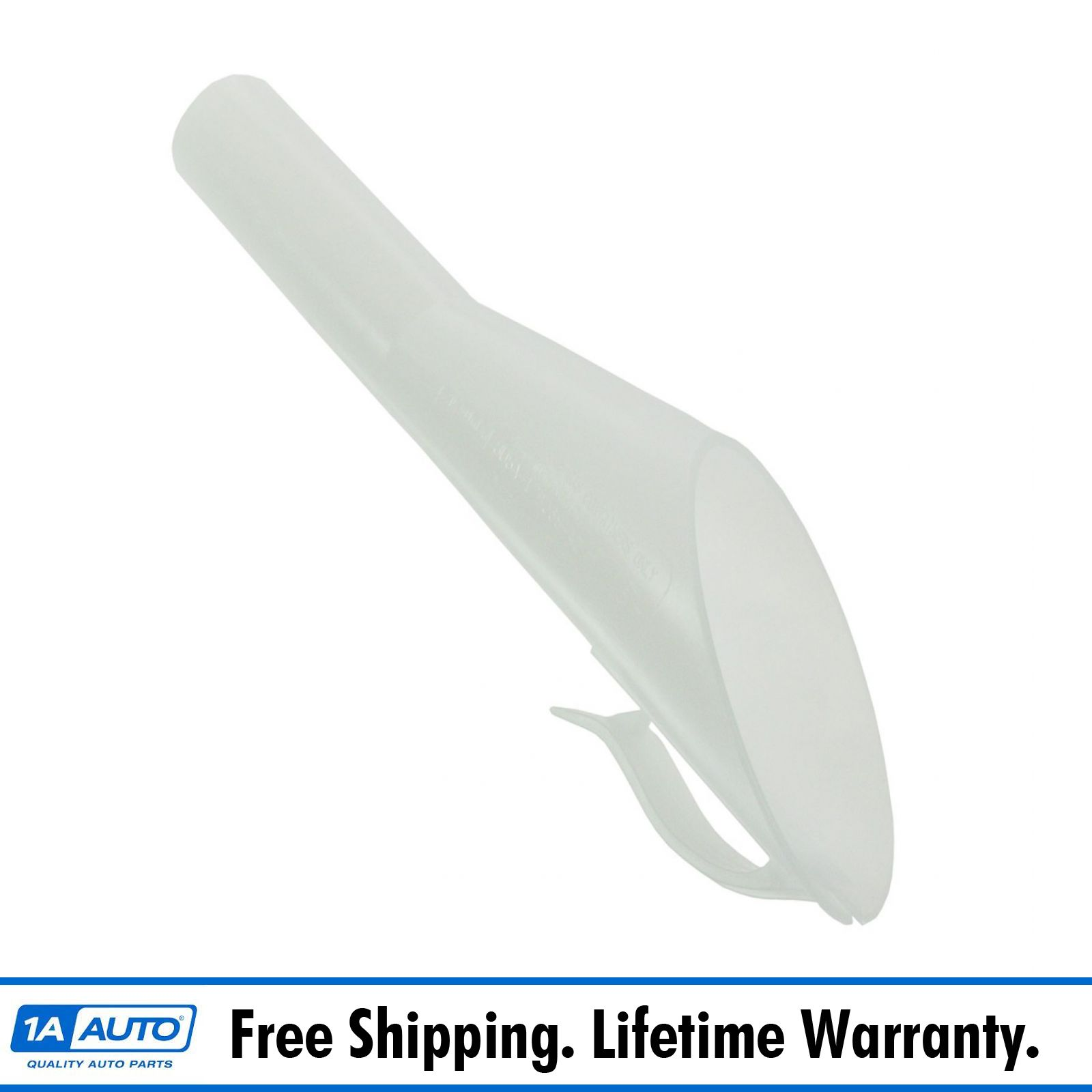 Easy Fuel Fill Tank Supply Gas Cap Funnel Tube for Ford Lincoln Mercury White