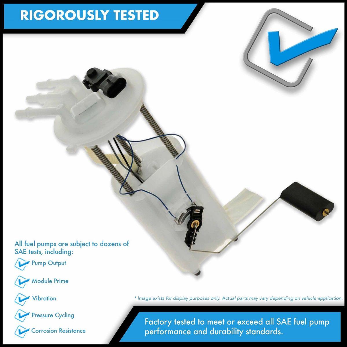Fuel Gas Pump /& Sending Unit Module for Chevy S10 Blazer GMC S15 Jimmy 4 Door