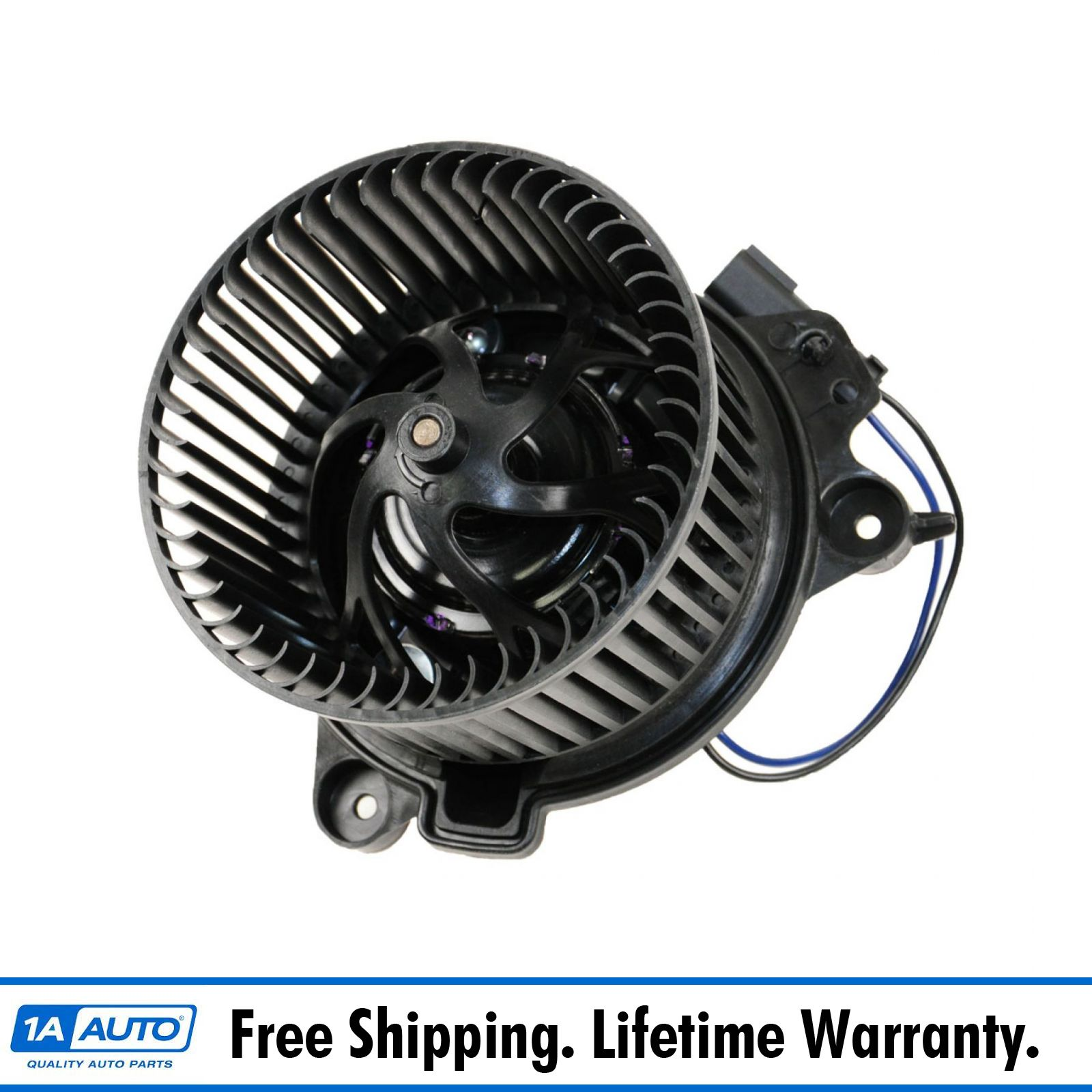 A//C Heater Blower Motor w// Fan Cage 2108206842 for Mercedes Benz