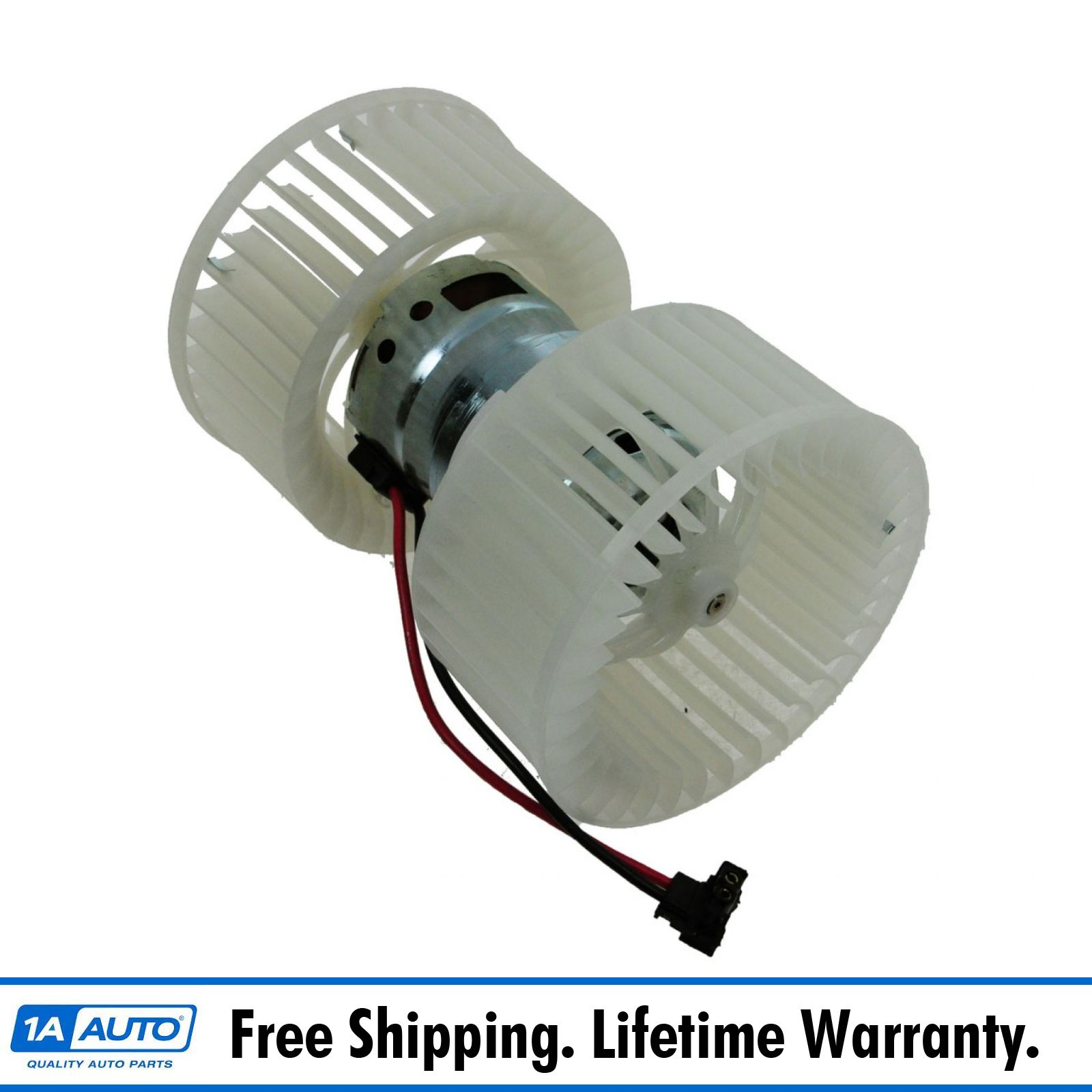 Heater A/C AC Blower Motor W/ Dual Cage Fan For BMW 330i