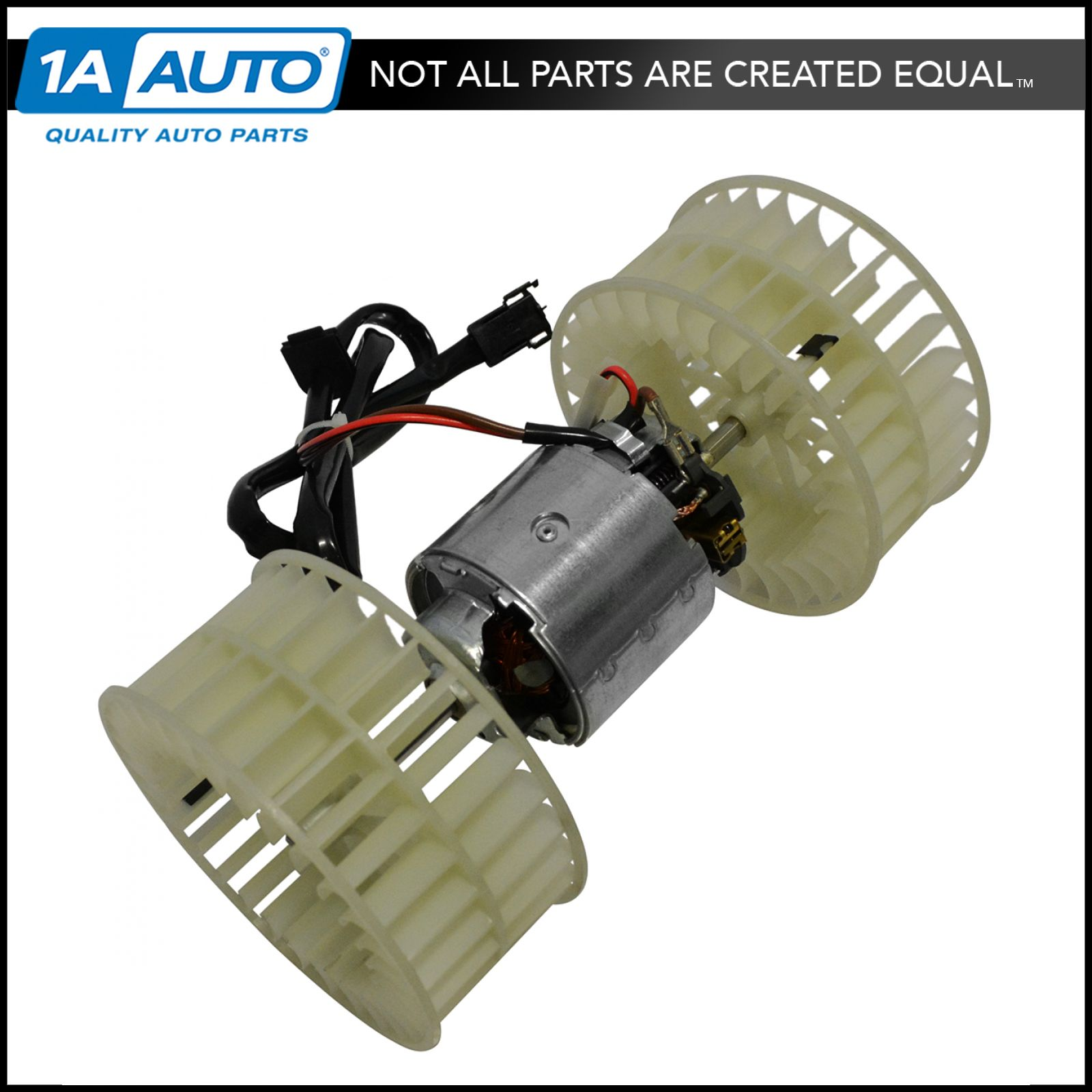 HVAC Heater Blower Assembly with Motor /& Fan Cage Brand New for Mercedes