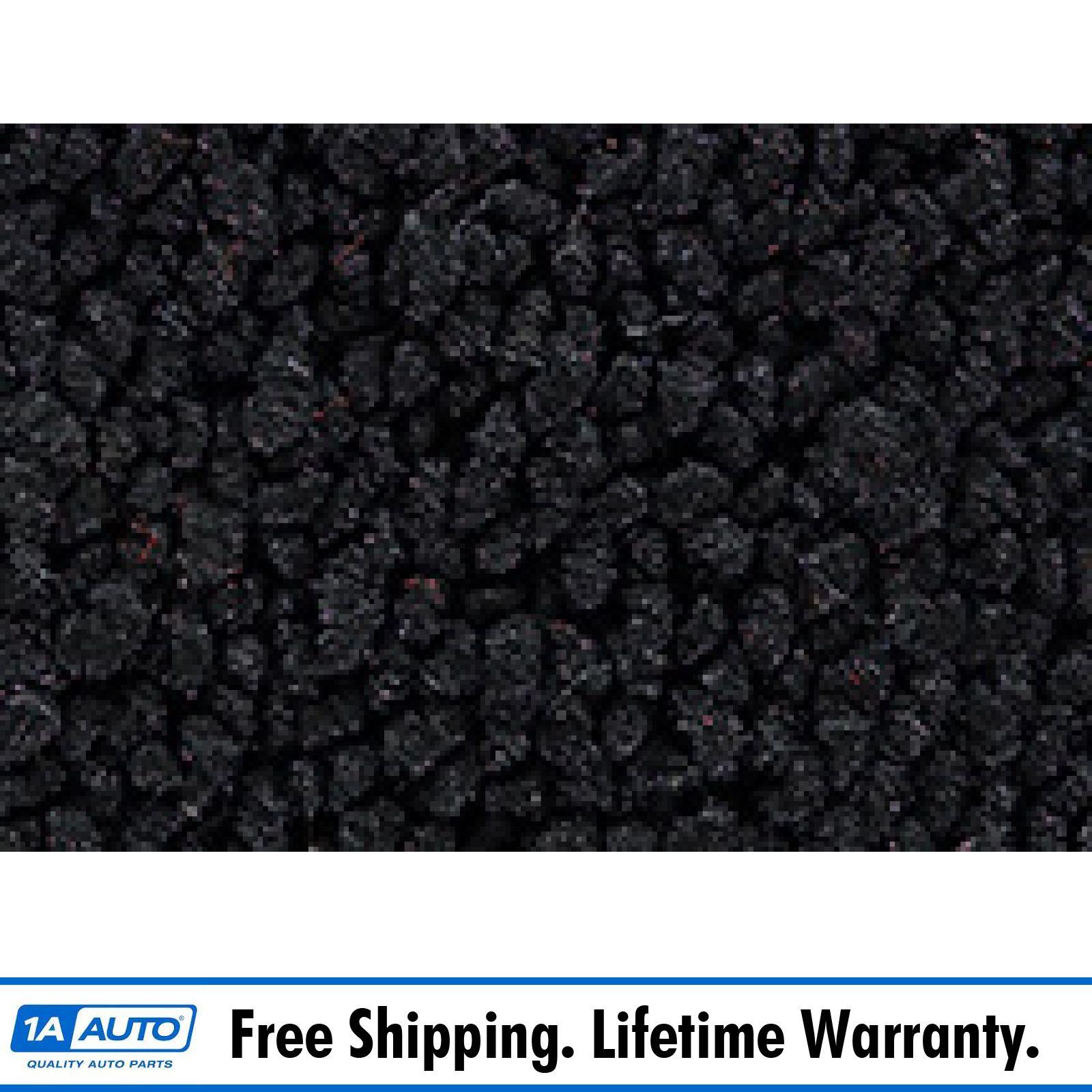 65-72 Ford F250 Reg Cab High Tunnel C6 Auto w//Frame Mounted Tank Carpet 01-Black