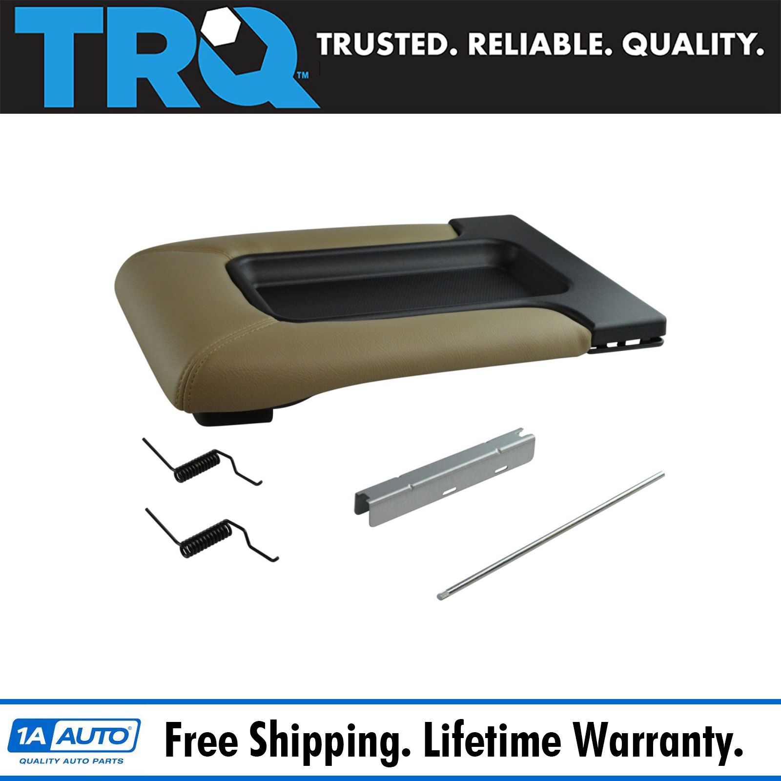 Center Console Lid Repair Kit Tan For Gm Pickup Truck Suv