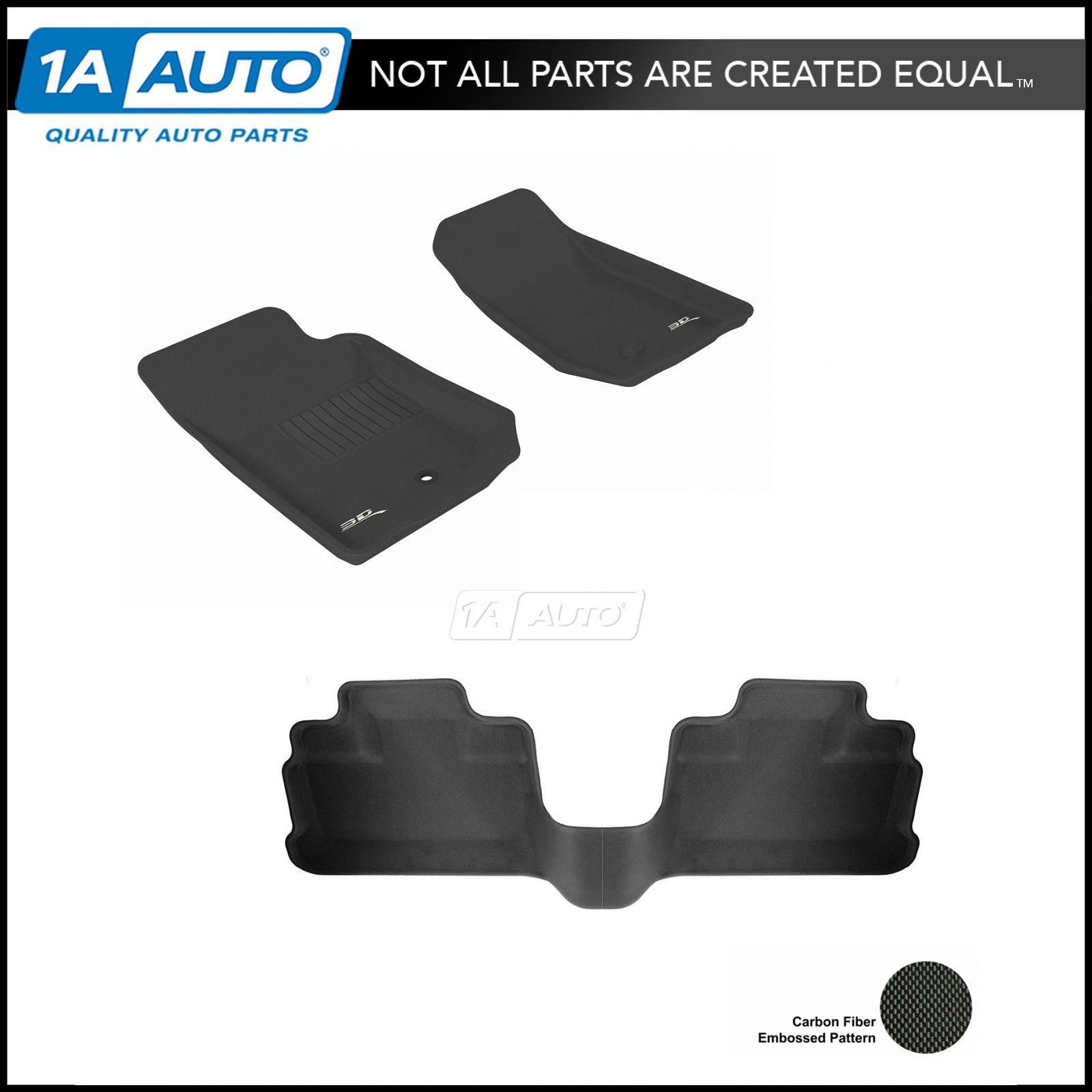 For 2002-2006 Acura RSX Black Trim Carpet Floor Mats Front Rear 4 Pcs Custom FIt