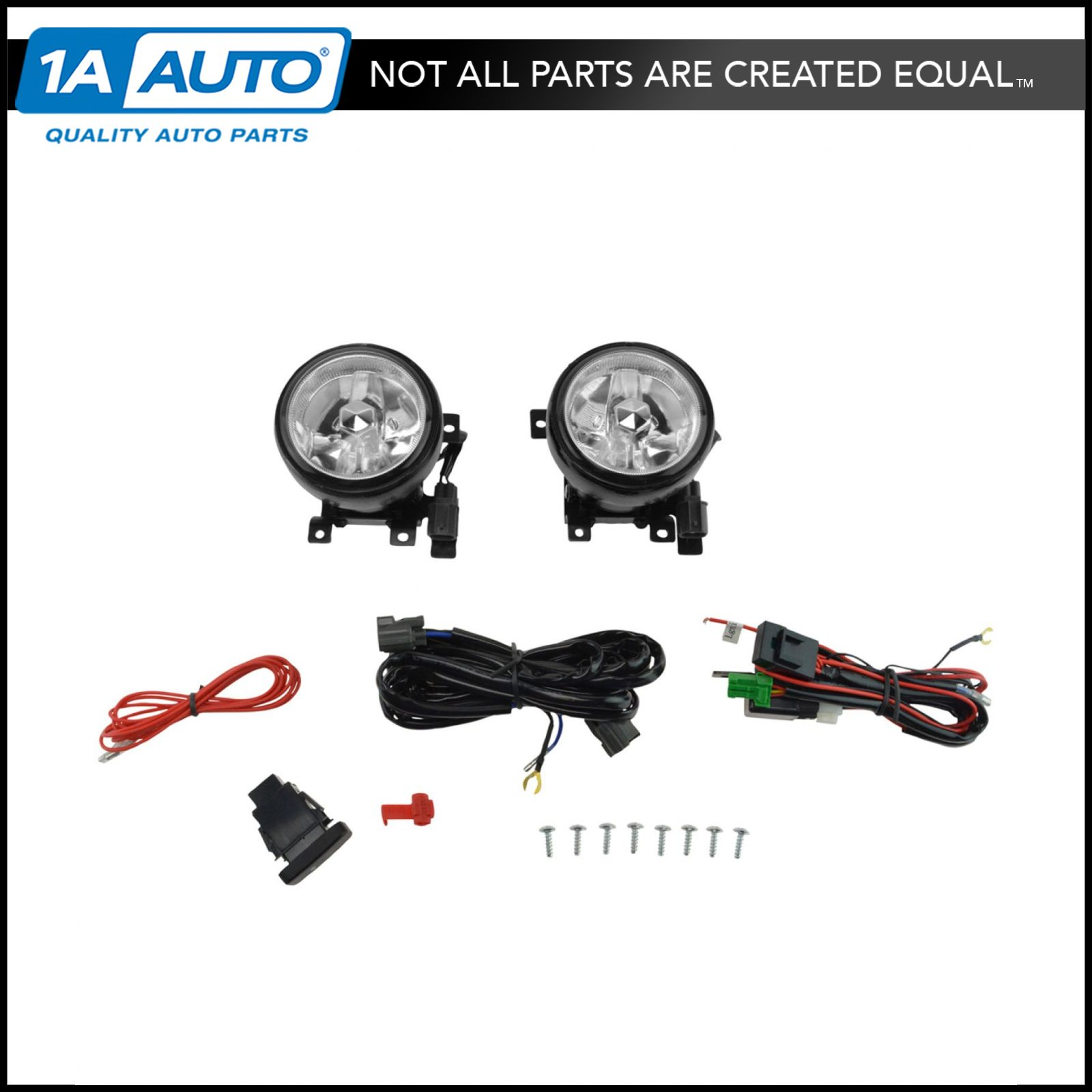 Peachy Add On Upgrade Clear Lens Fog Light Bulb Switch Wiring Kit Set For Wiring Database Cominyuccorg