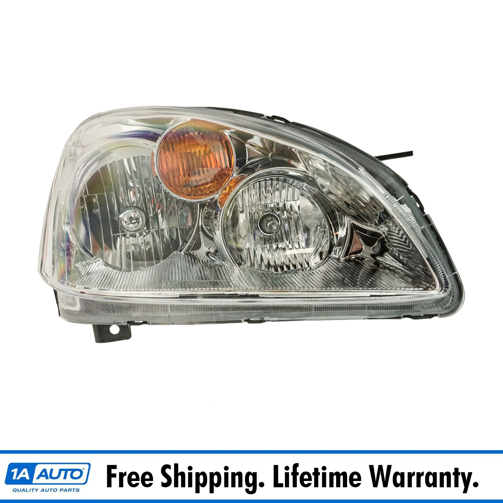 Headlight Headlamp Passenger Side Right RH For 02-04 Nissan Xterra XE