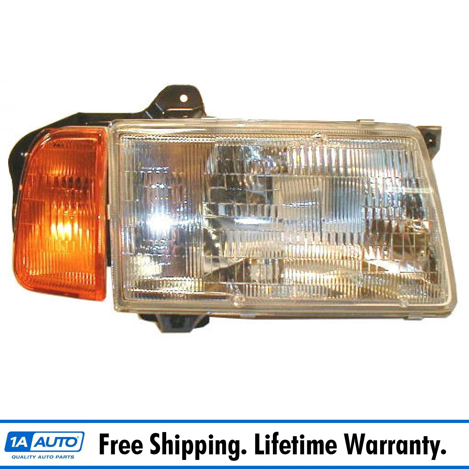 Depo 318-1102R-ASC Suzuki Sidekick Passenger Side Replacement Headlight Assembly with Corner Light