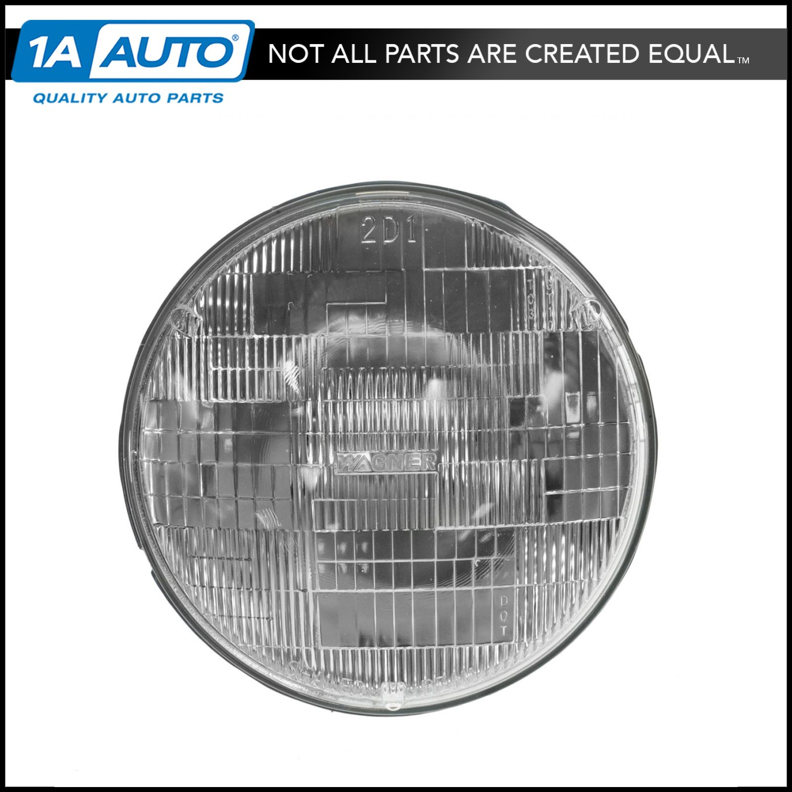 Rectangle Shaped Sealed Beam Headlight Headlamp for Ford Toyota Pickup Truck GM