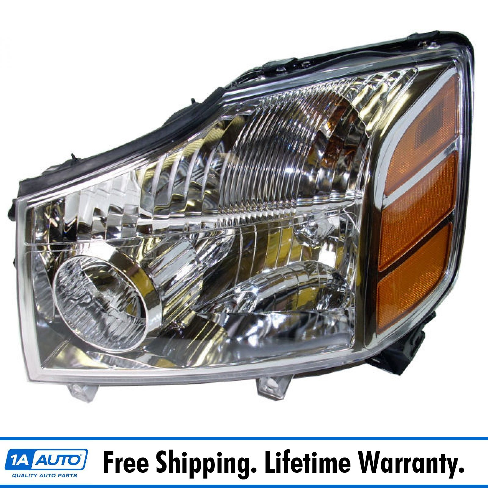 Fits 2004-2007 Nissan Armada Titan Headlight Headlamp Left Driver Side LH