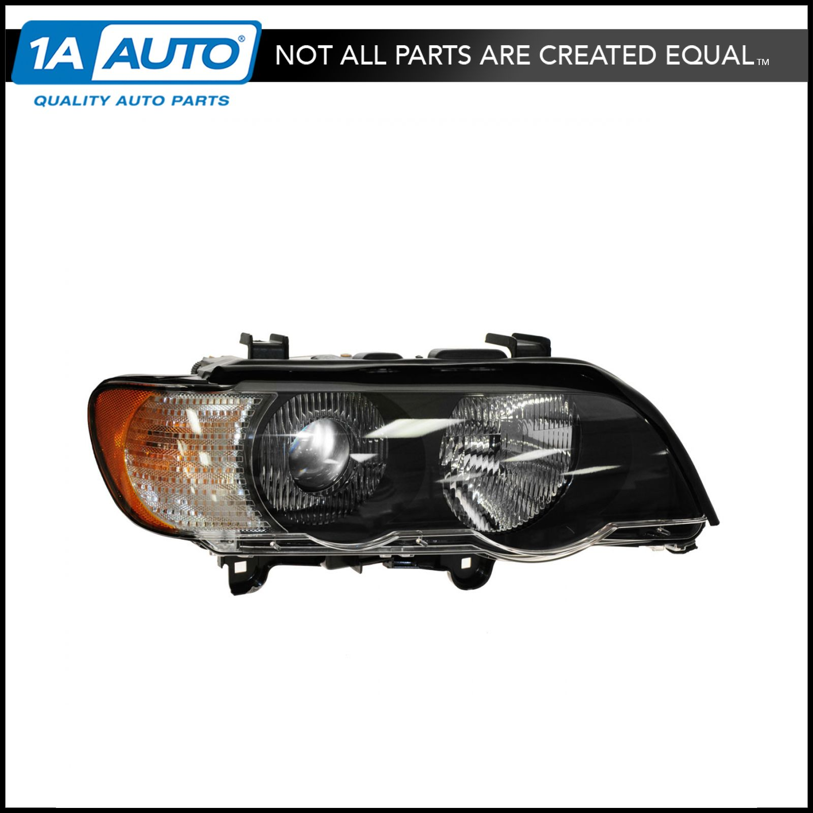 Depo 344-1123R-ASH2C BMW X5 Passenger Side Replacement Headlight Assembly 02-00-344-1123R-ASH2C
