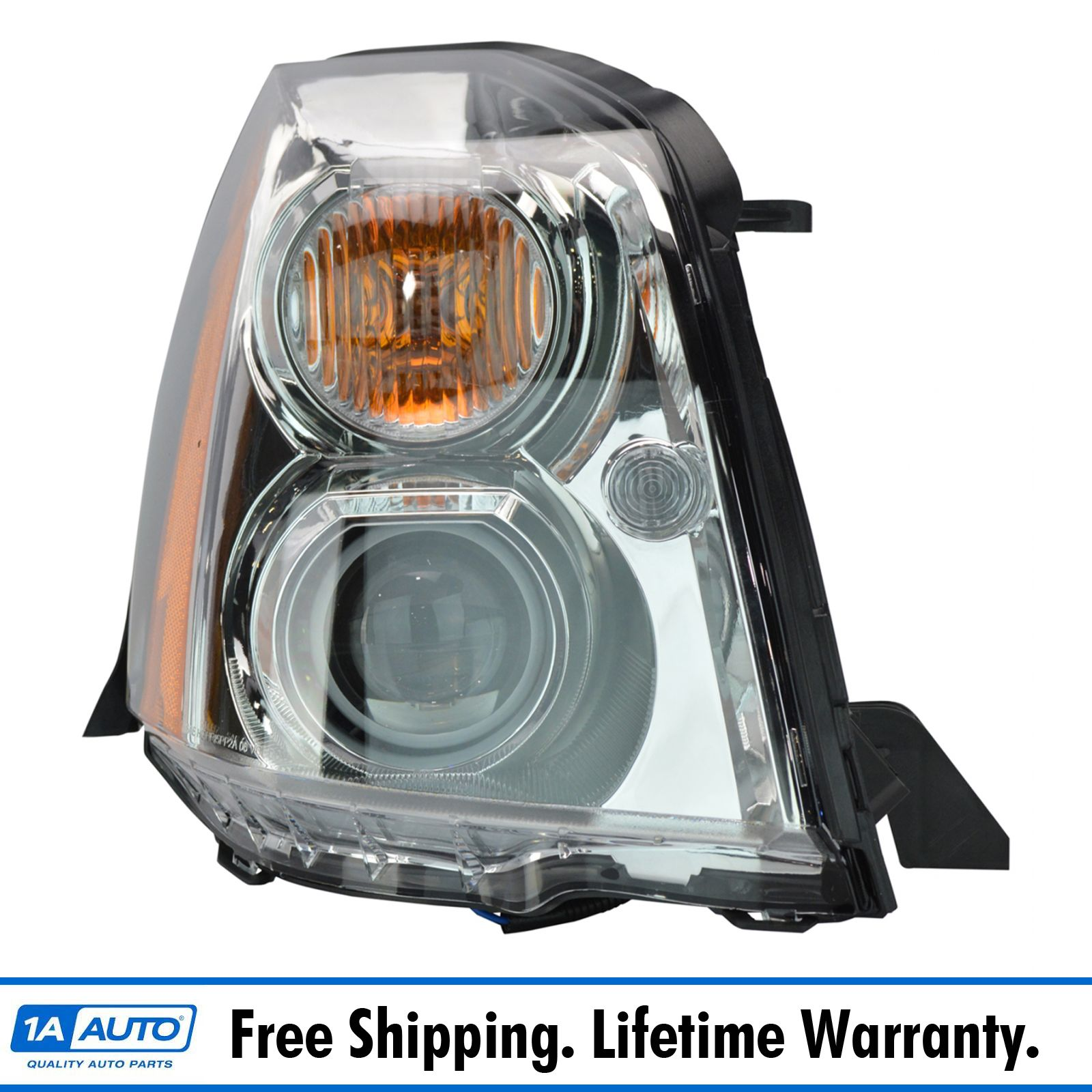 Headlight Headlamp Hid Xenon Passenger Side Right Rh For