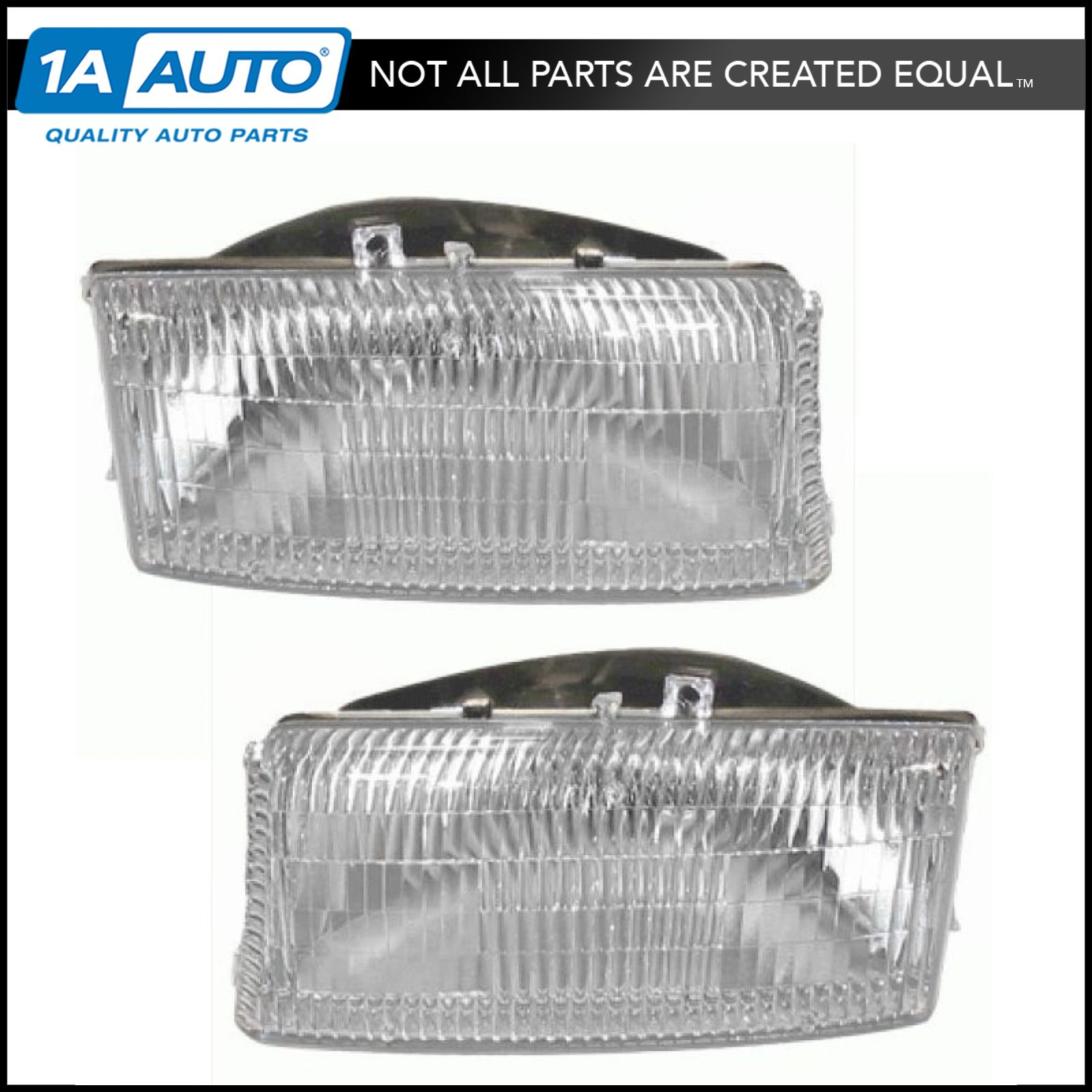 Headlights Headlamps Pair Set Left Amp Right For Dodge