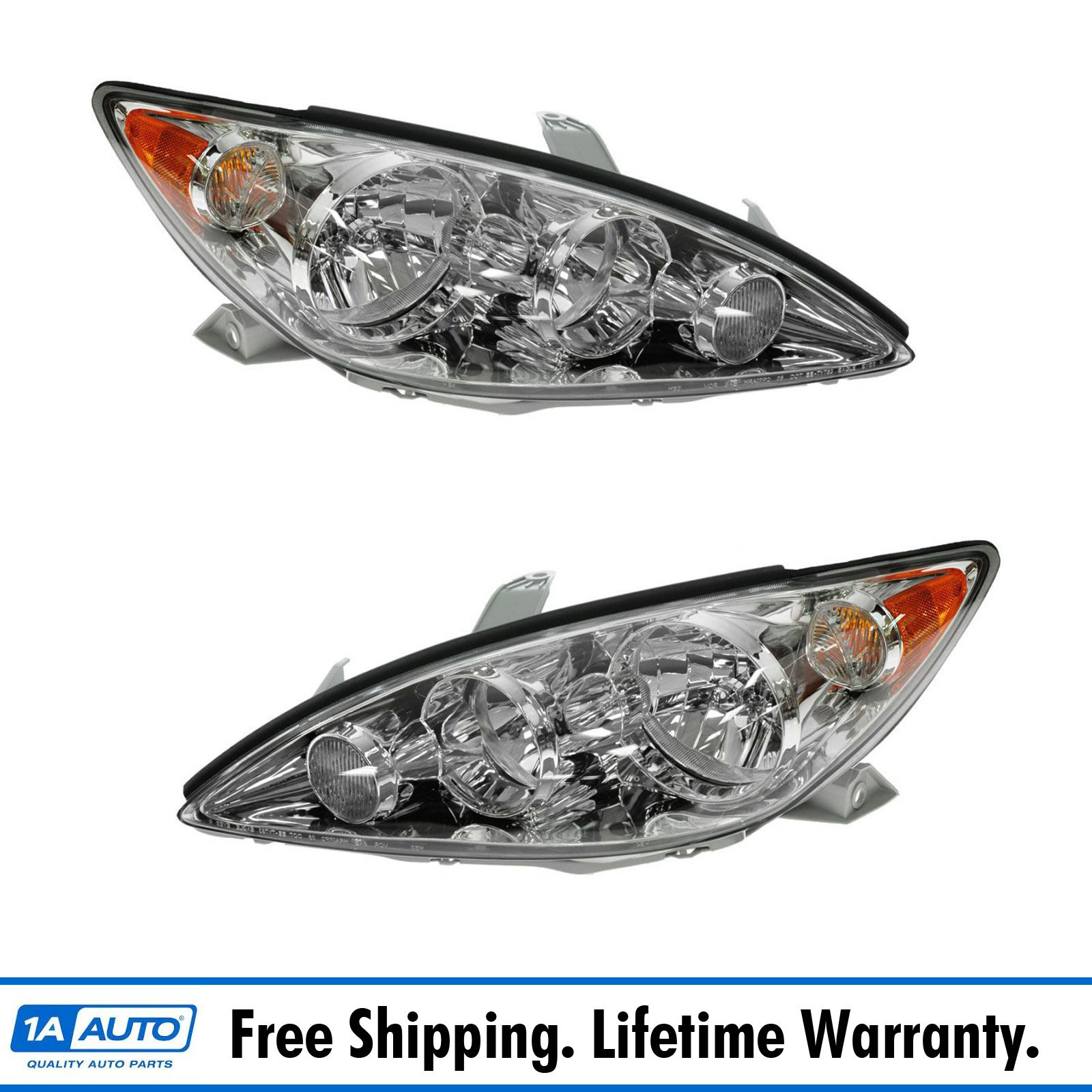 Assembly LE//XLE Models CAMRY 05-06 HEAD LAMP LH USA Built Halogen