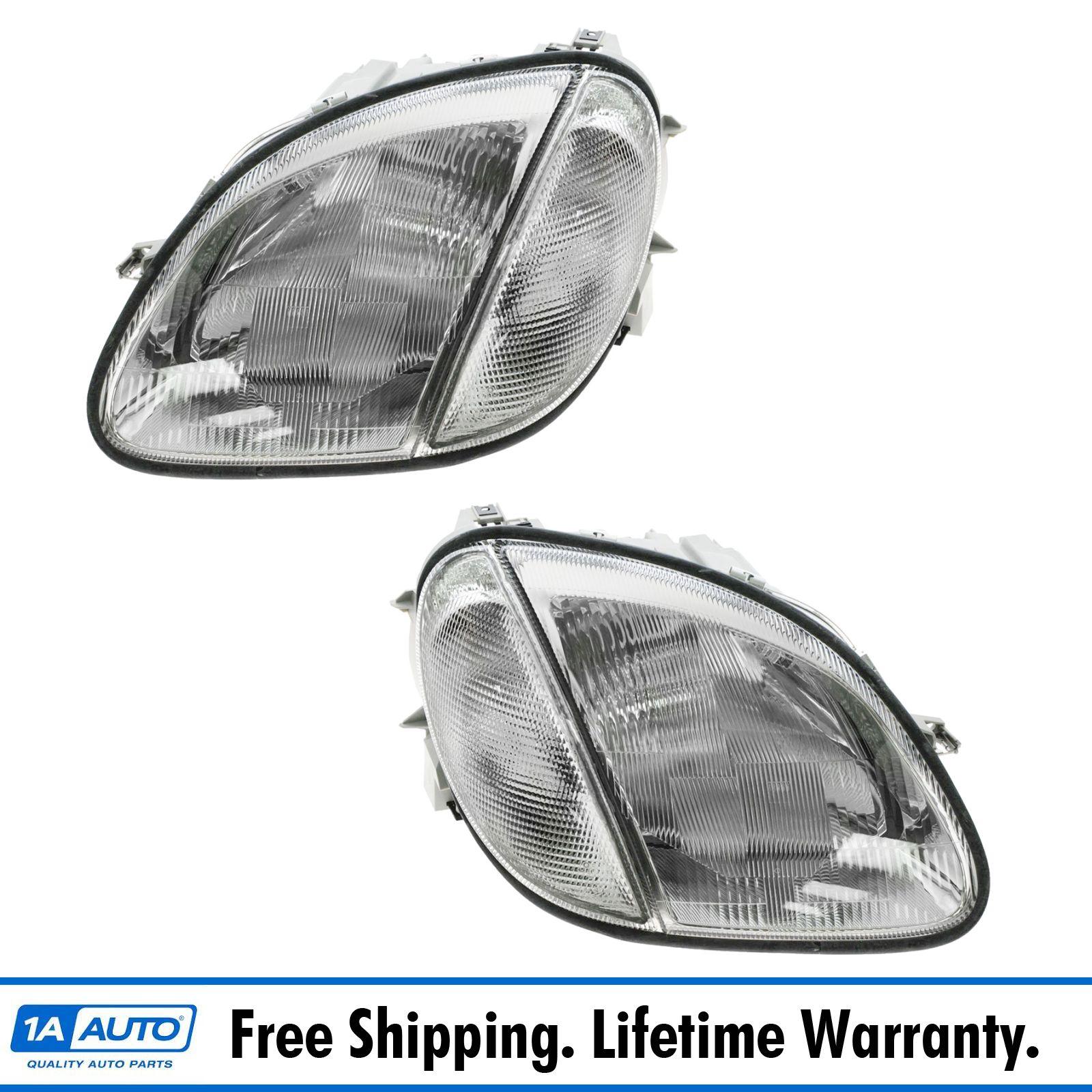 Headlight For Mercedes Benz Slk230 Slk320 Slk32 Amg 191213278116 Ebay Slk 32 2002 Fuse Diagram