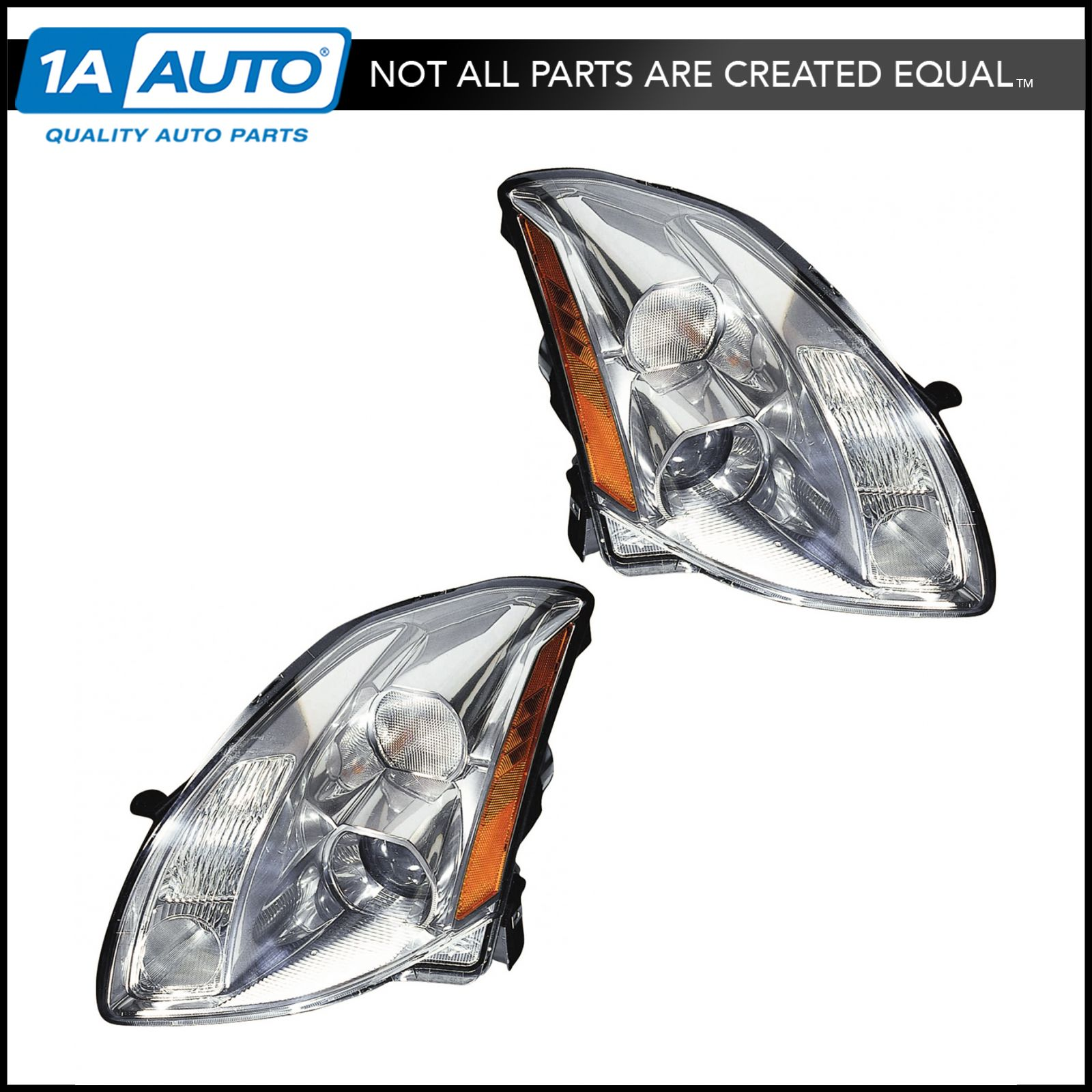 Xenon Hid Headlights Headlamps W   Ballasts Lh  U0026 Rh Pair Set For 05