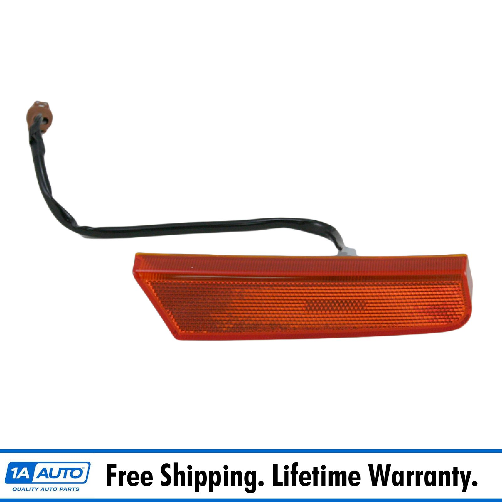 Side Marker compatible with Nissan Nissan Xterra 02-04 Set of 2 Front Right and Left Assembly
