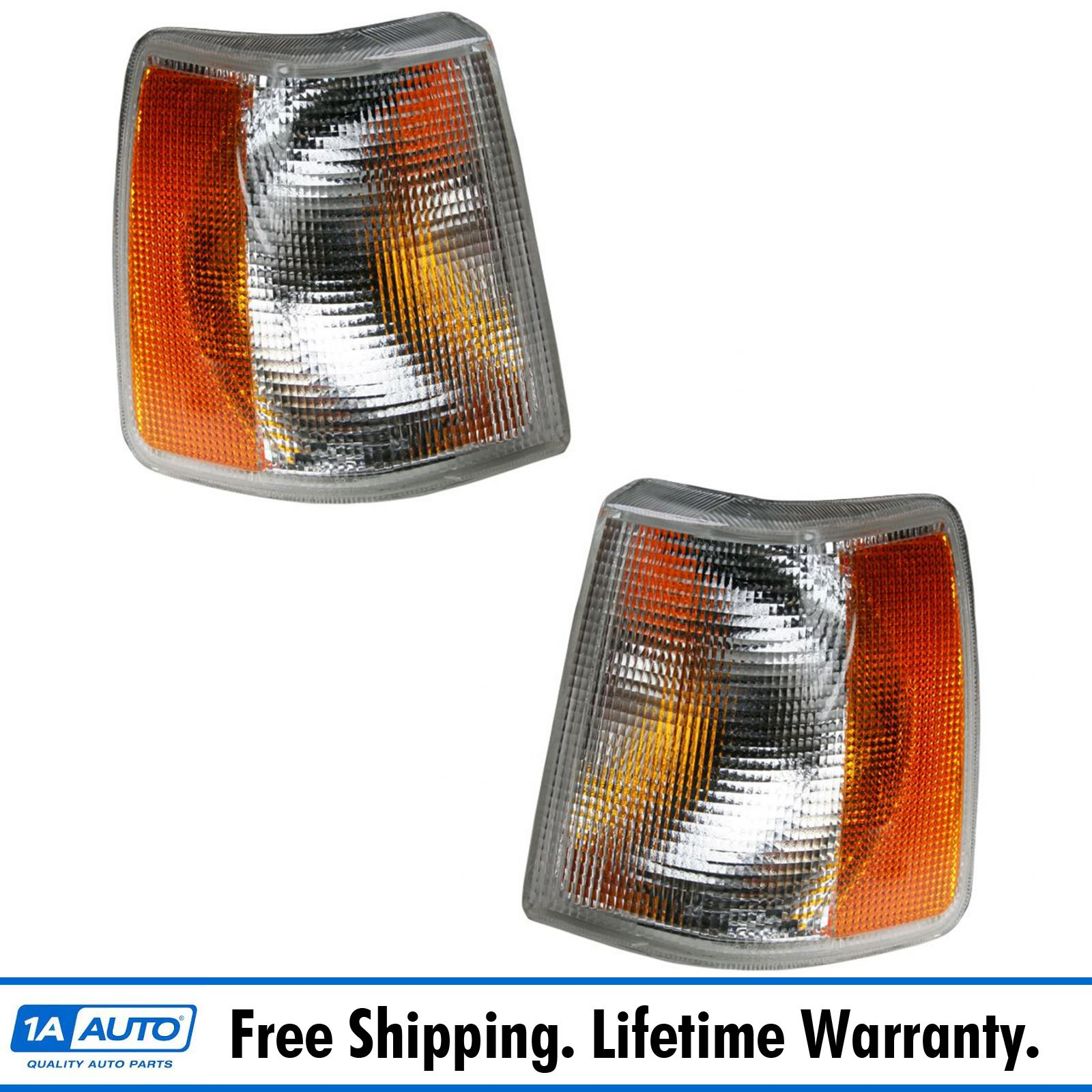 740 Turn Signal Corner Light Lamp Passenger Right Side Replacement VO2521105 960 For 1991 1992 1993 1994 1995 Volvo 940