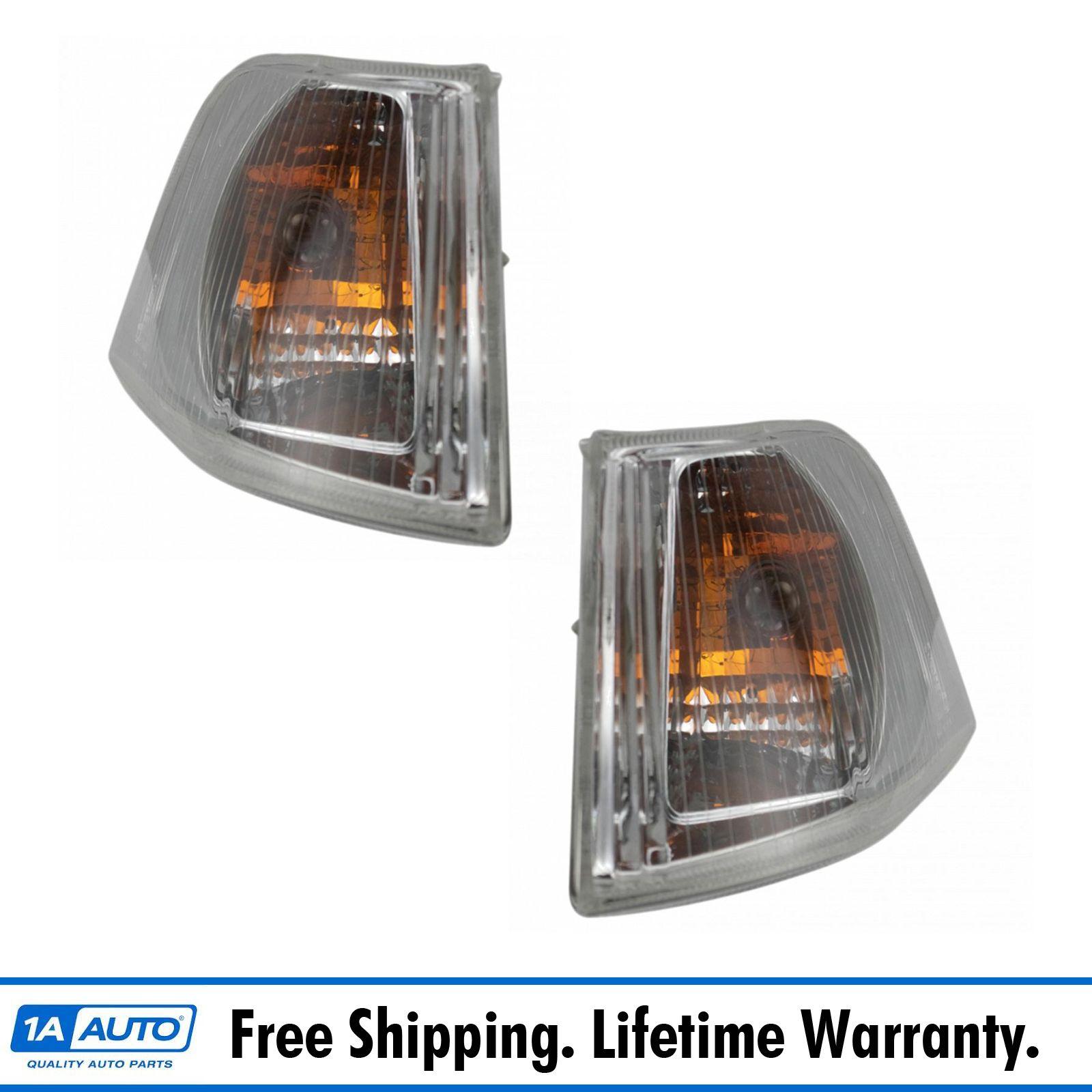 For 01-04 Tacoma Park Corner Light Gray Turn Signal Marker Lamp Left Driver DOT