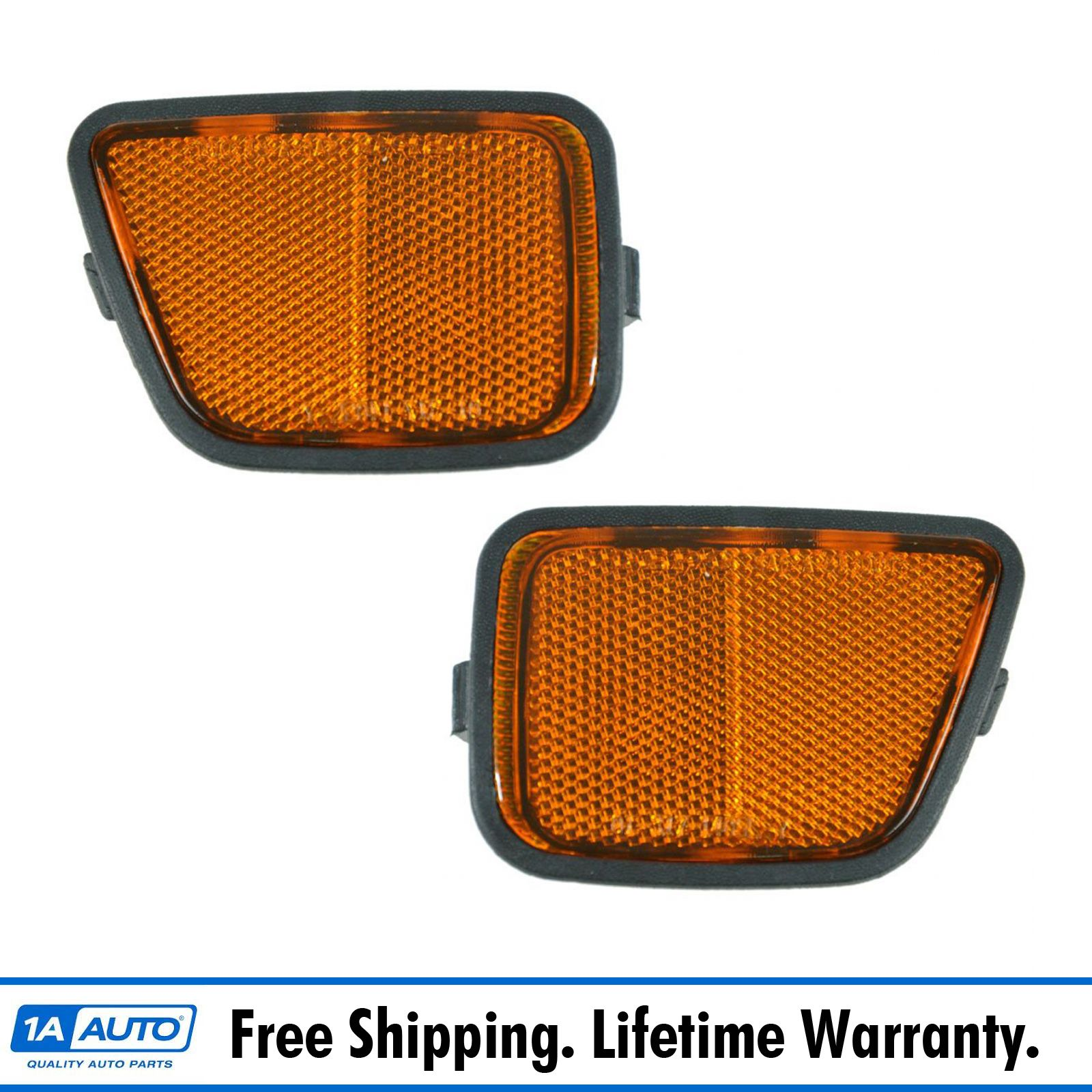 Fits 1997-01 HONDA PRELUDE Signal Light Lamp Pair Left and Right Set