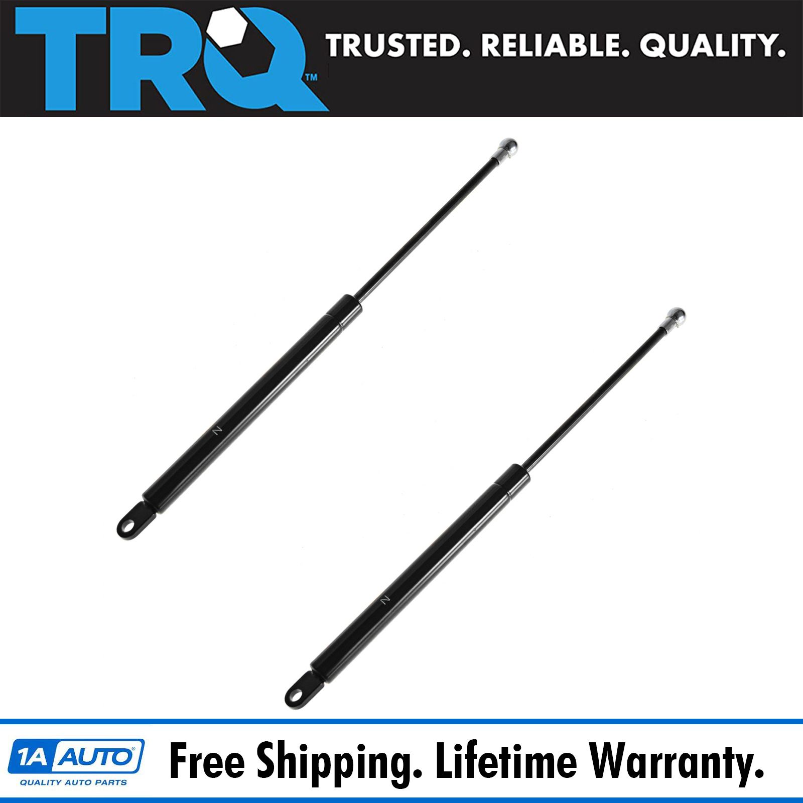 Front Hood Lift Support Strut Left /& Right Pair Set of 2 NEW for Porsche 924 944
