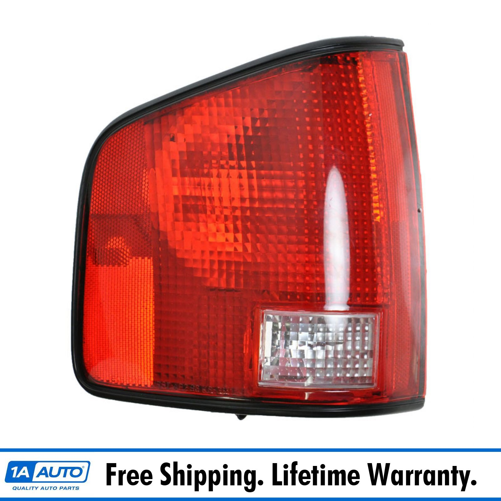 Taillight Taillamp LH Left Driver Side for 94-04 Hombre S10 Sonoma Pickup Truck