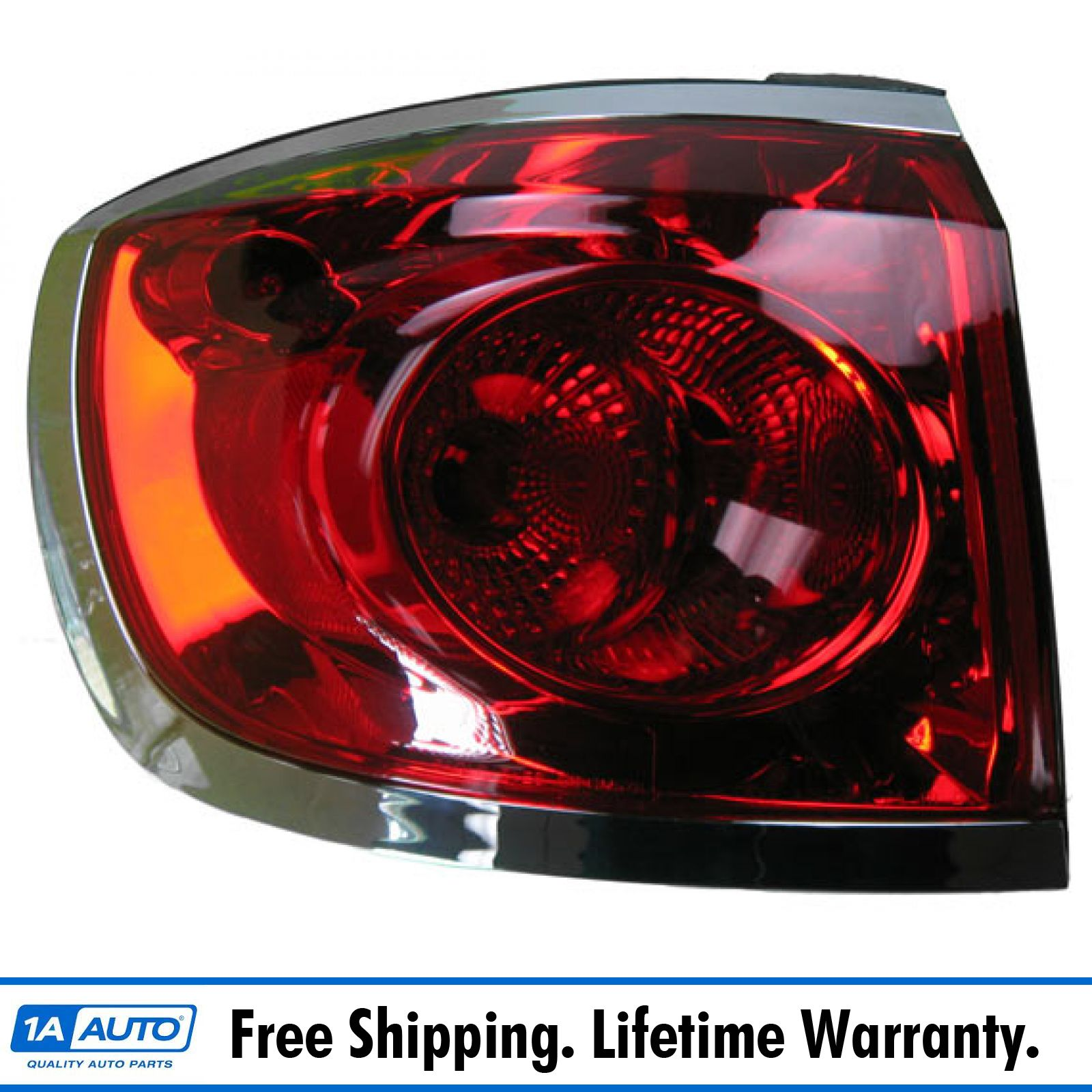 Buick Enclave 08-12 Left Lh Rear Brake Taillight Taillamp New Lens /& Housing