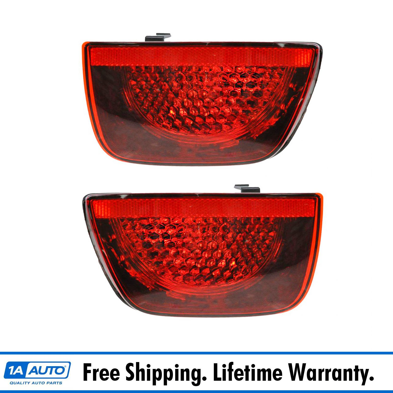 Taillamp Taillight Inner LH RH Driver Passenger PAIR for 11-13 Chevy Cruze