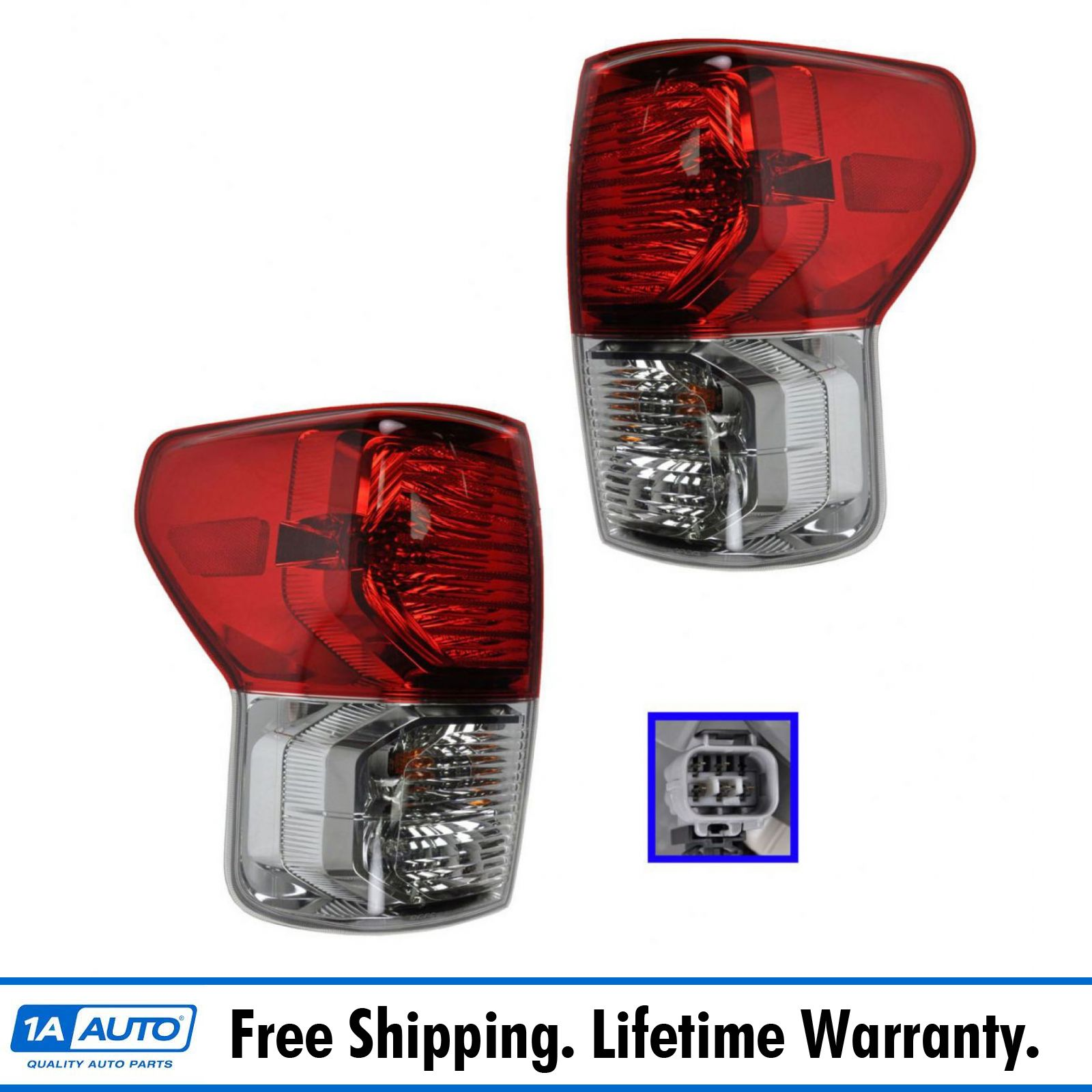 For 2010-2011 Toyota Tundra Left Side Driver Tail Light Taillight Lamp