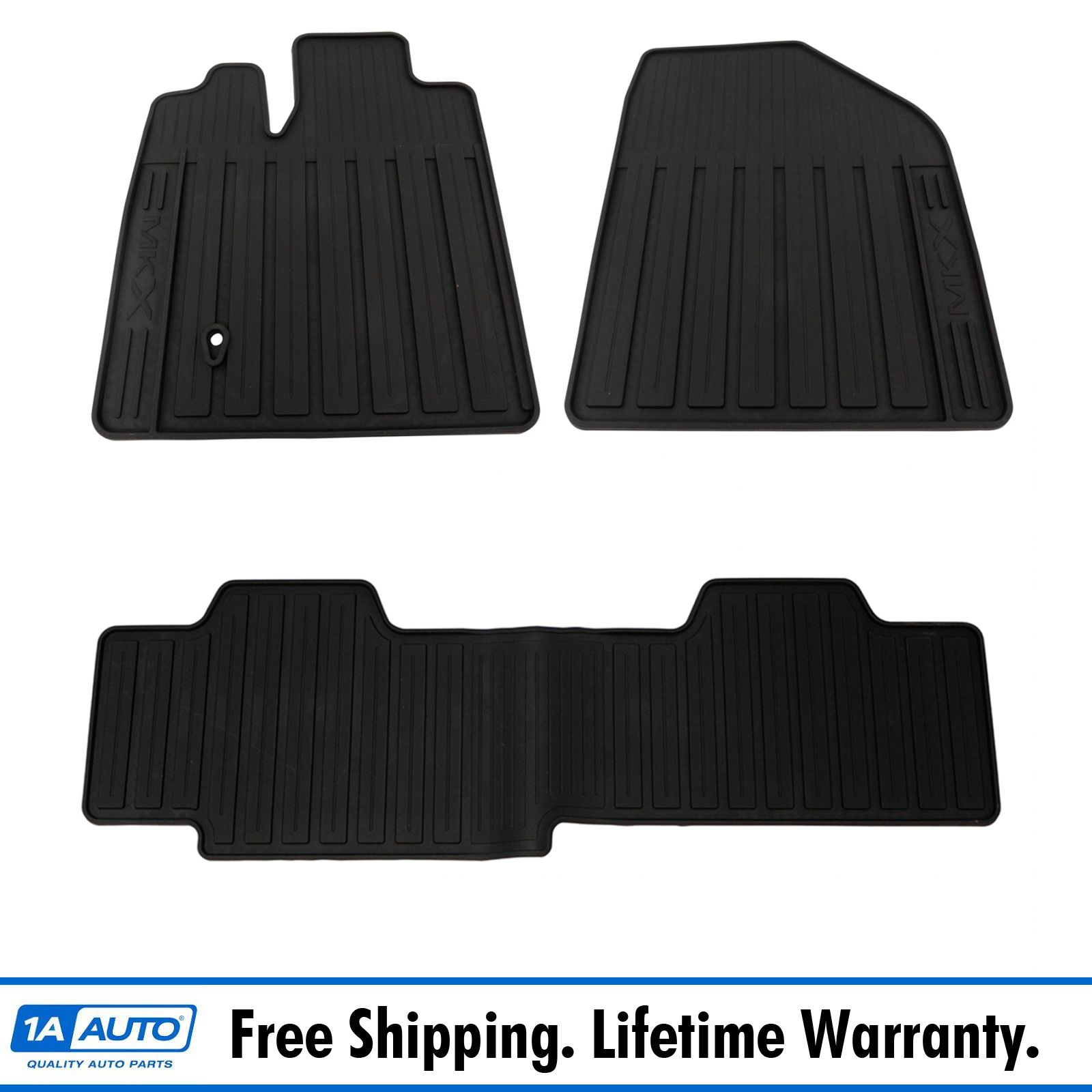 OEM All Weather Floor Mat Set of 4 LH RH Front /& Rear for 11-14 Chrysler 300 RWD