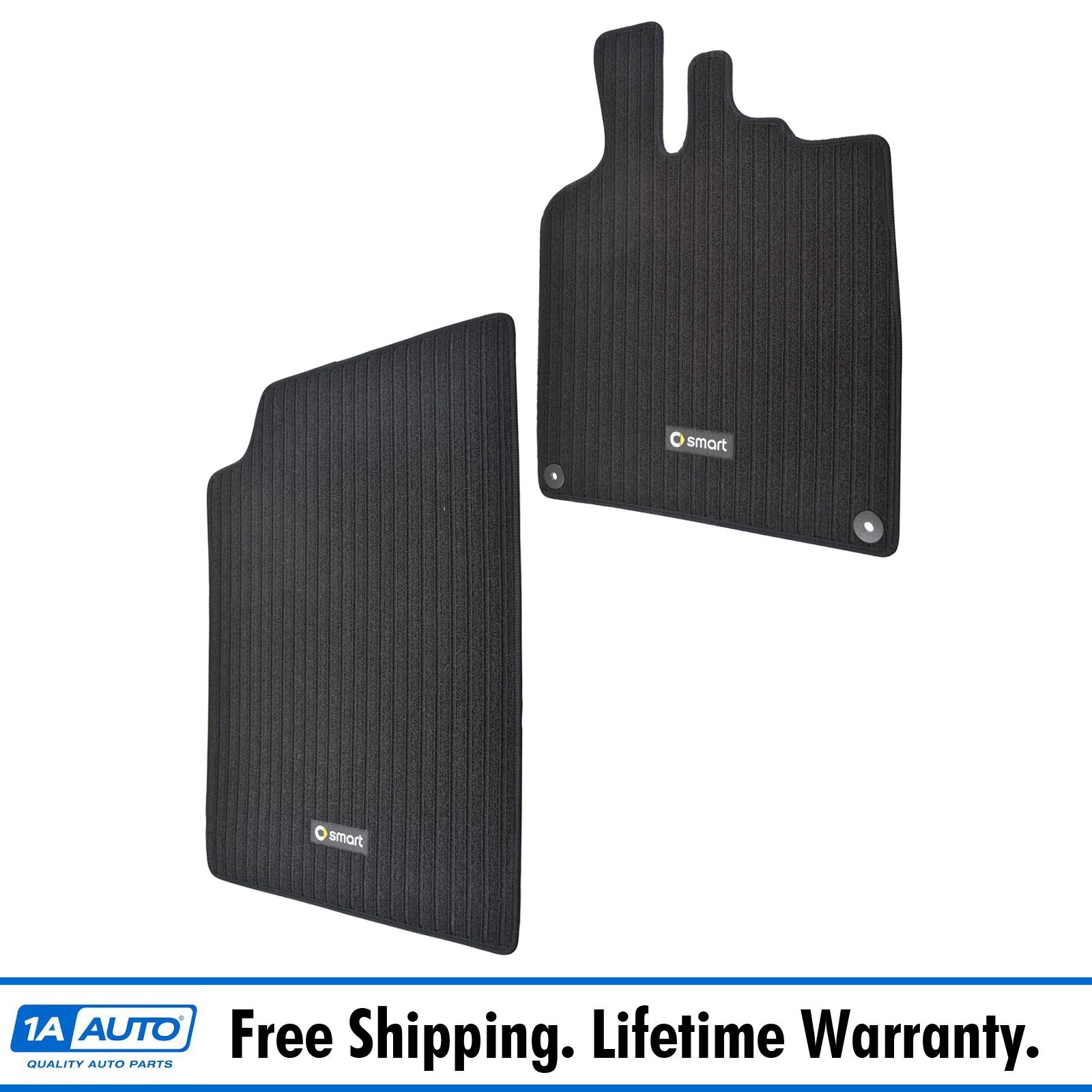 RUBBER DRIVERS FLOOR CAR MAT TAILORED 2 Clip MAZDA 6 08-13