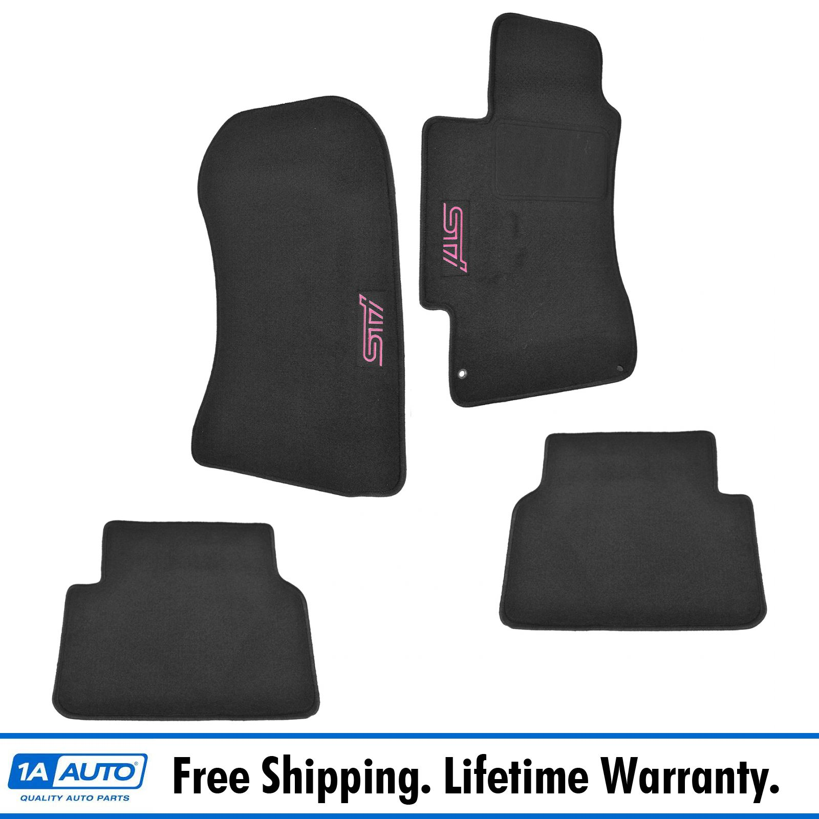 Oem Sci440b202 Floor Mat Black Carpeted Set For Subaru Impreza Wrx Sti Ebay