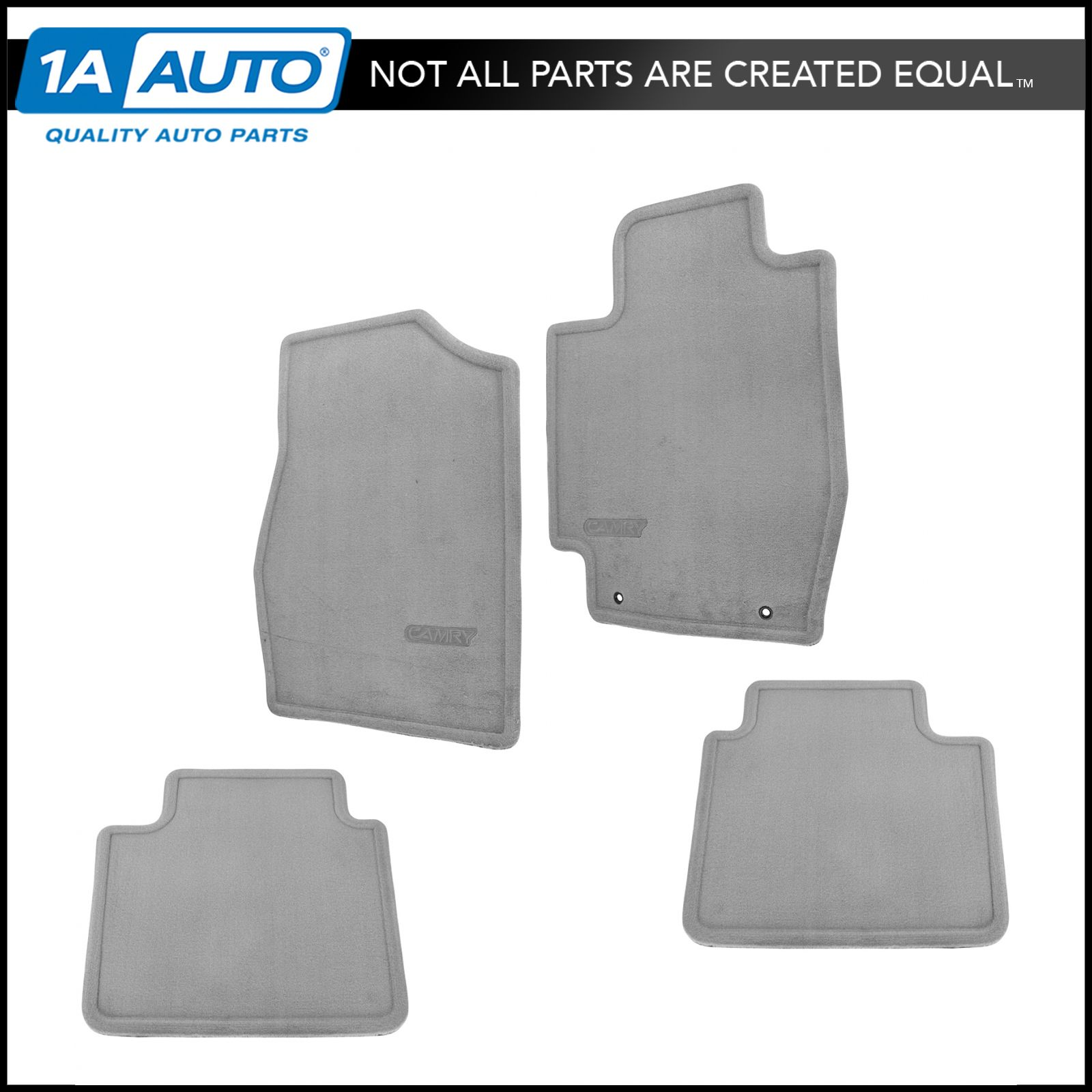 OEM PT2083202021 Floor Mat Stone Gray Front & Rear Set for 02-06 Toyota  Camry