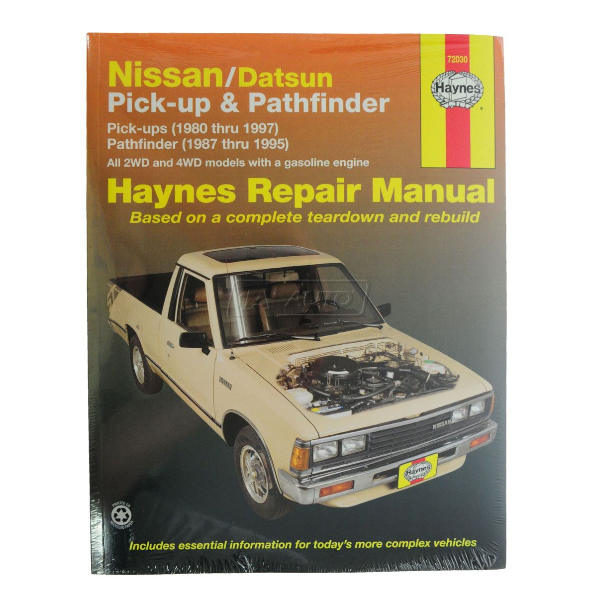 1987-95 Nissan Pathfinder Haynes Repair Manual