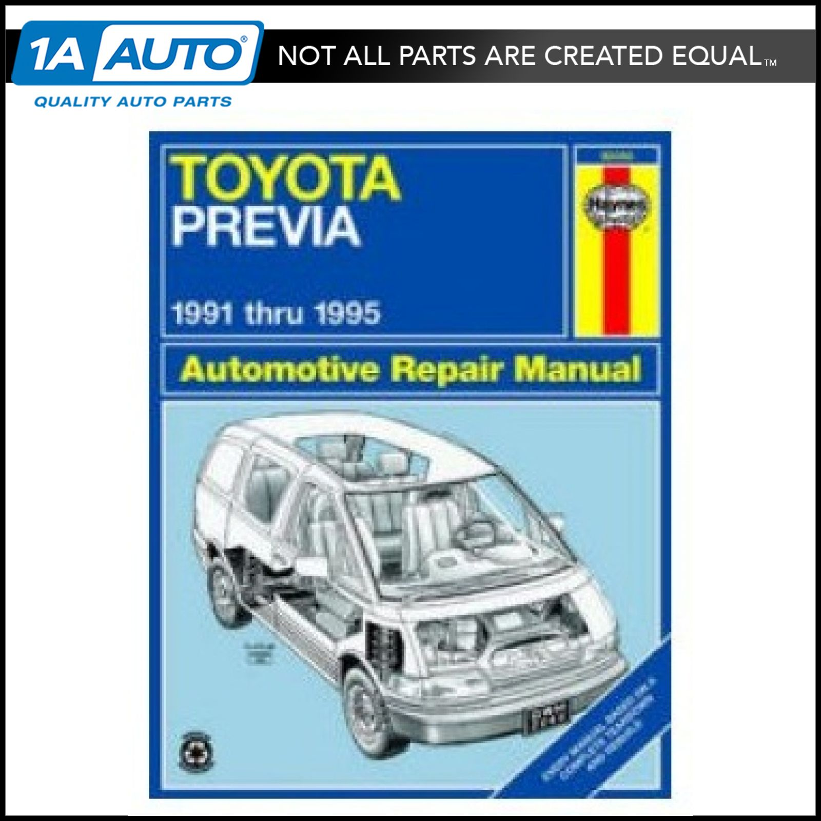 91 92 93 94 95 Toyota Previa Haynes Repair Manual NEW