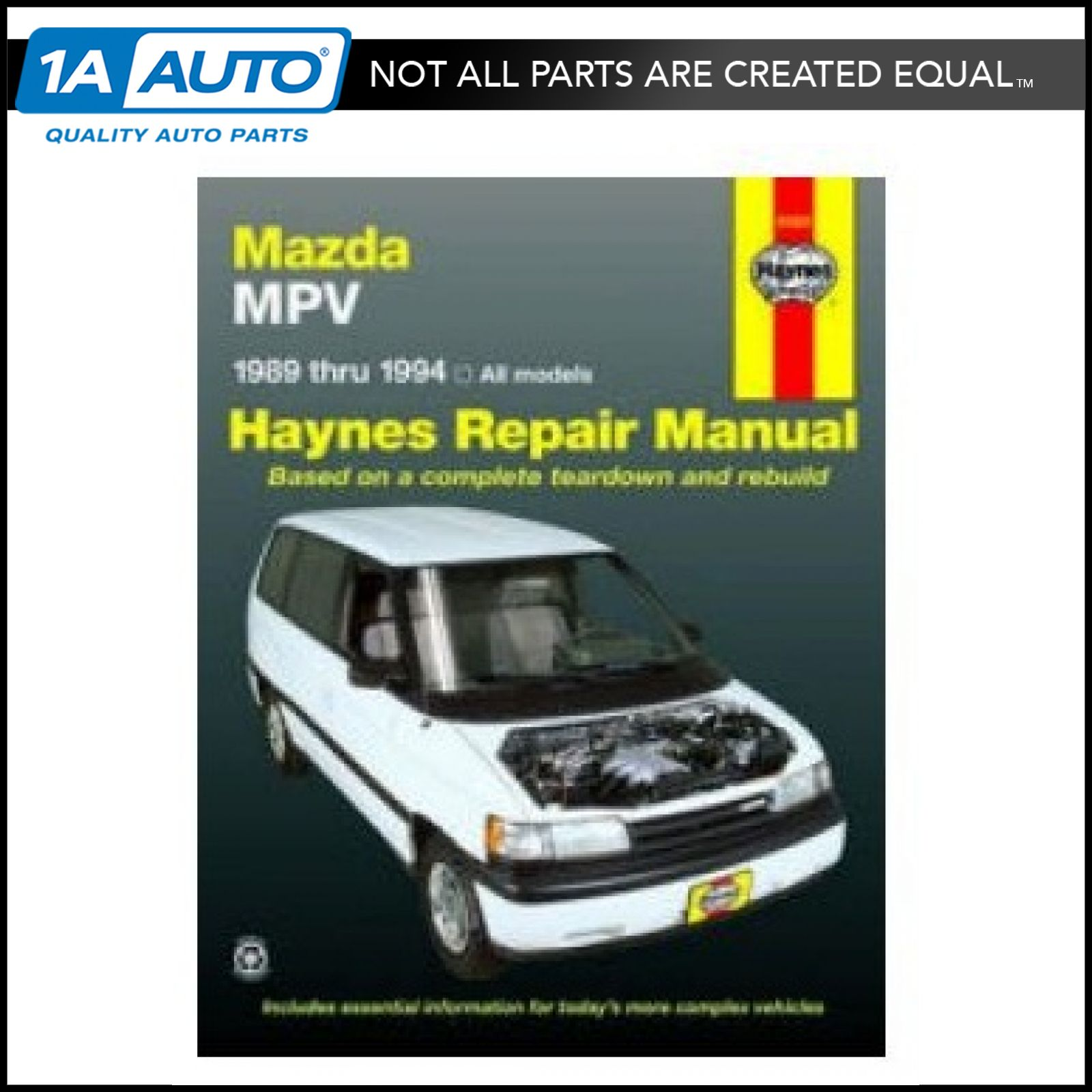 Haynes Repair Manual for Mazda MPV 89 90 91 92 93 94