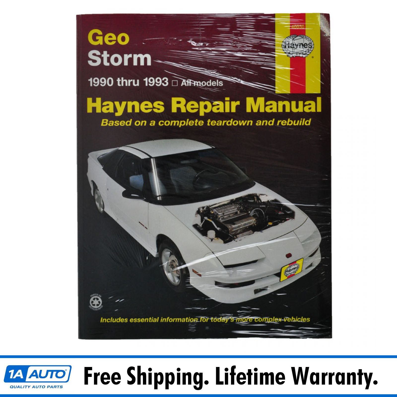 1990-93 Geo Storm Haynes Repair Manual
