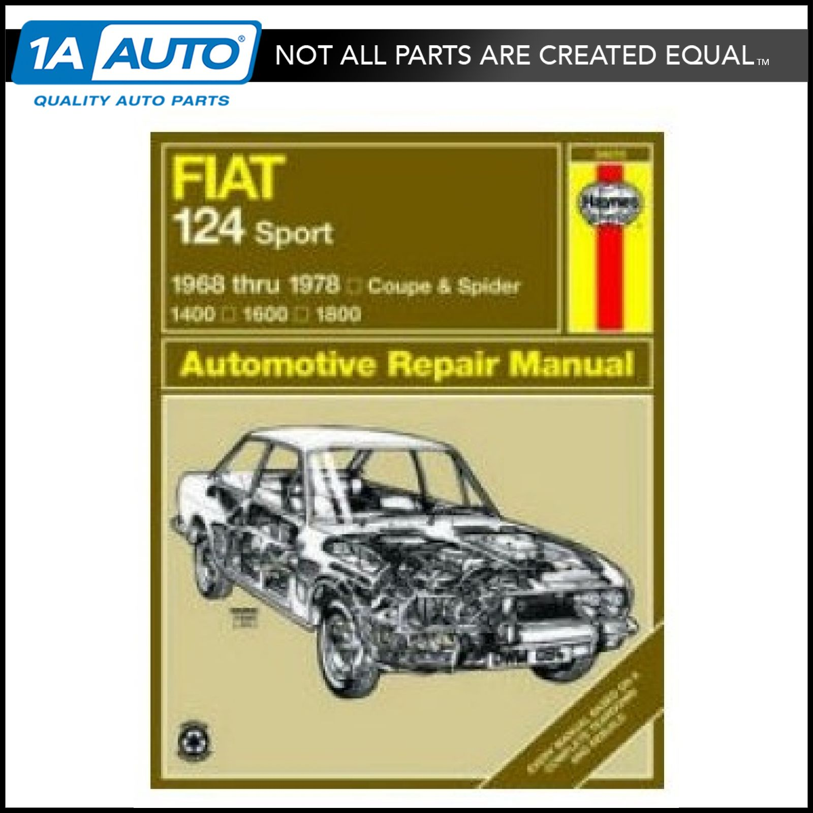 68 - 74 75 76 77 78 Fiat 124 Sport Haynes Repair Manual