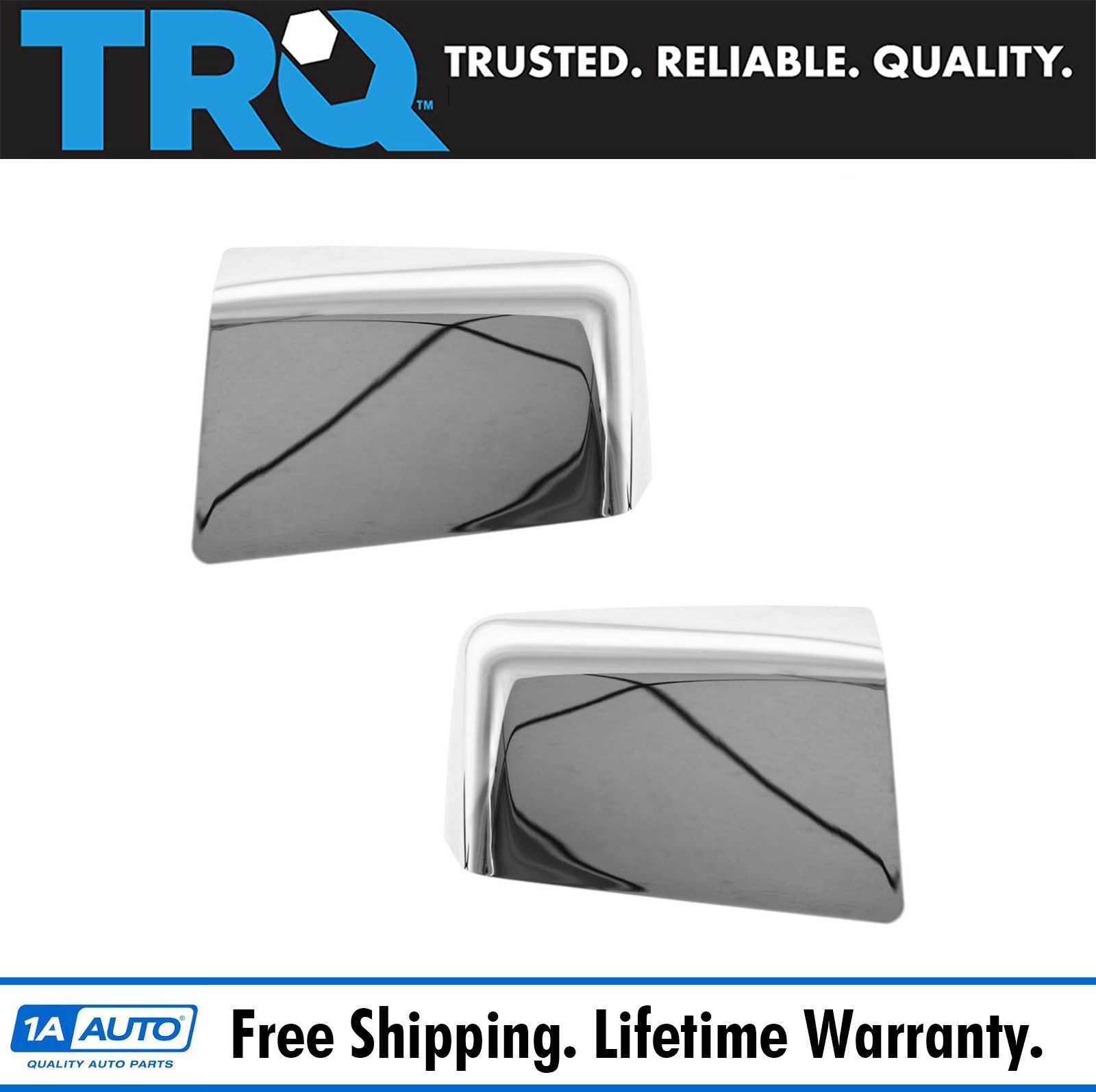 FOR 07 08 09 10 FORD EXPLORER EXPLOROR SPORT TRAC RANGER CHROME MIRROR COVERS