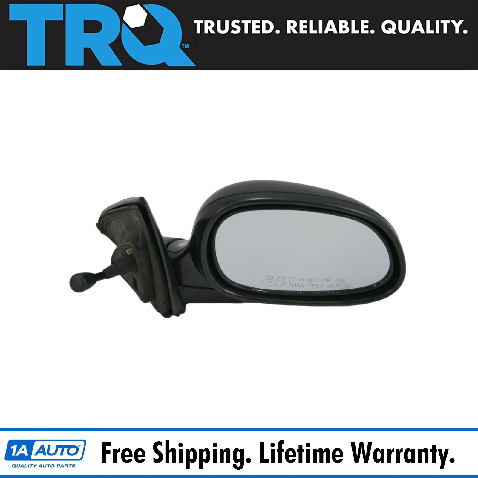 Coupe//Hatchback US Auto Parts Manual Remote HONDA CIVIC 92-95 SIDE MIRROR RIGHT PASSENGER