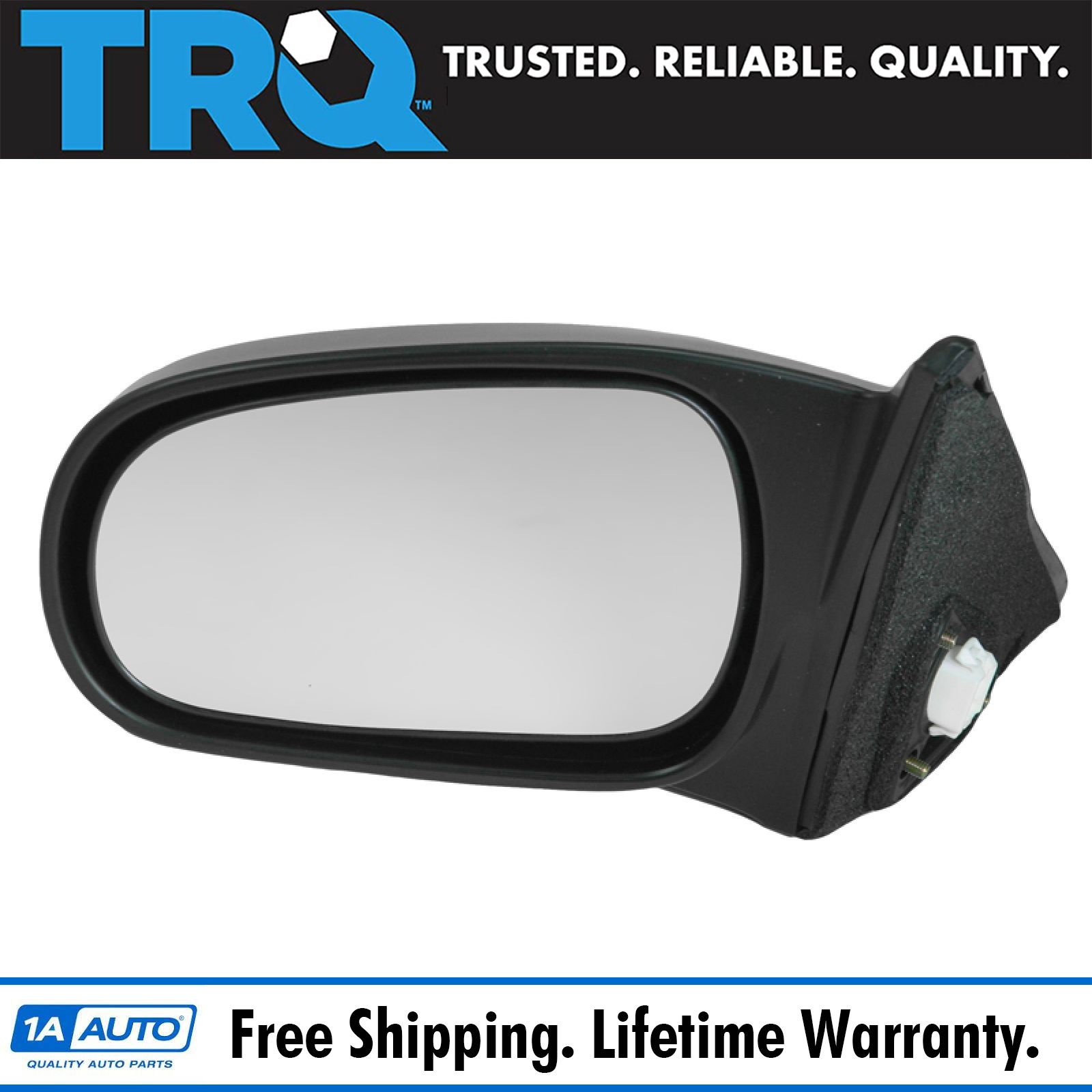 96-00 Civic 2-Door Coupe Power Non-Folding Rear View Mirror Left Driver Side NEW