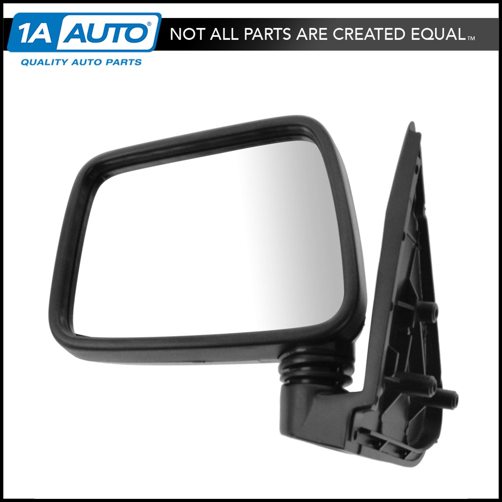 Chrome Manual Mirror Driver Side Left LH for Isuzu Rodeo Pup Pickup