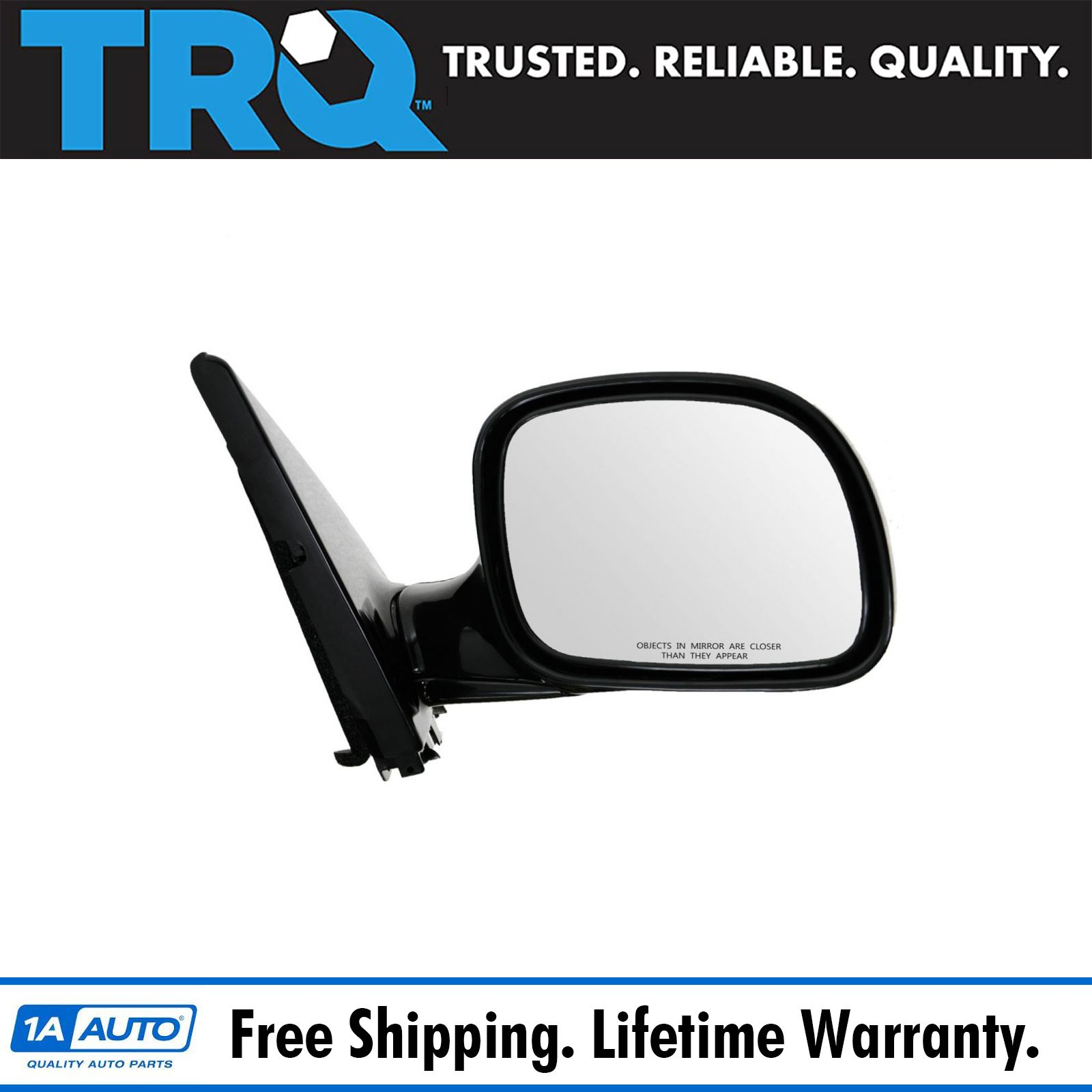 A NEW MIRROR-GLASS~Chrysler Dodge PLYMOUTH LEFT DRIVER SIDE~DIRECT FIT~MANUAL