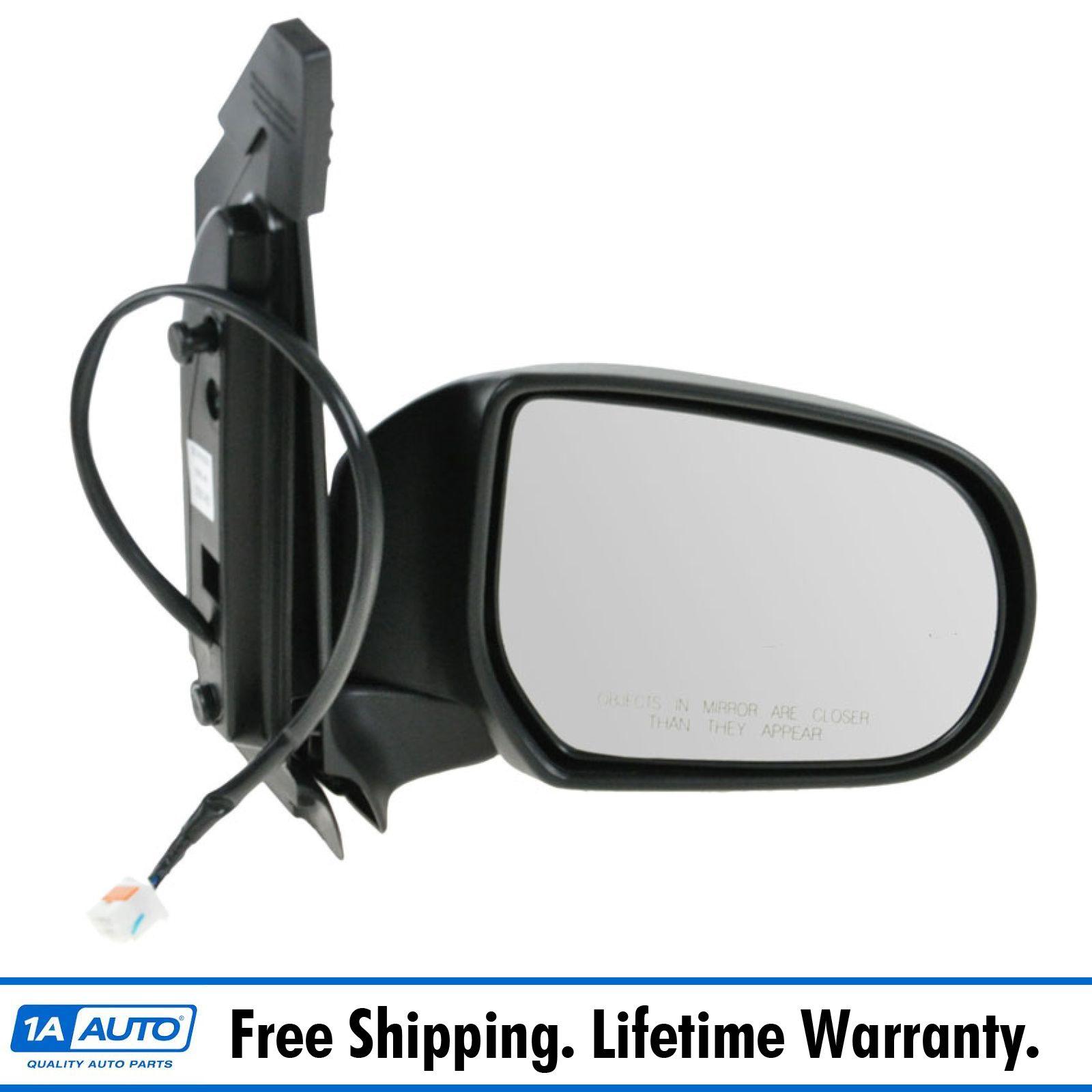 00-06 Mazda MPV Van Power Heated Folding Black Rear View Mirror Left Driver Side